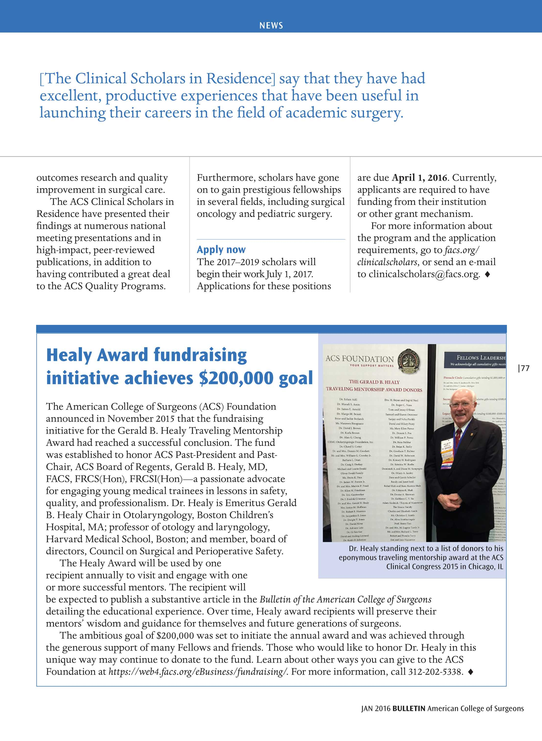 Acs Bulletin January 2016 Page 77