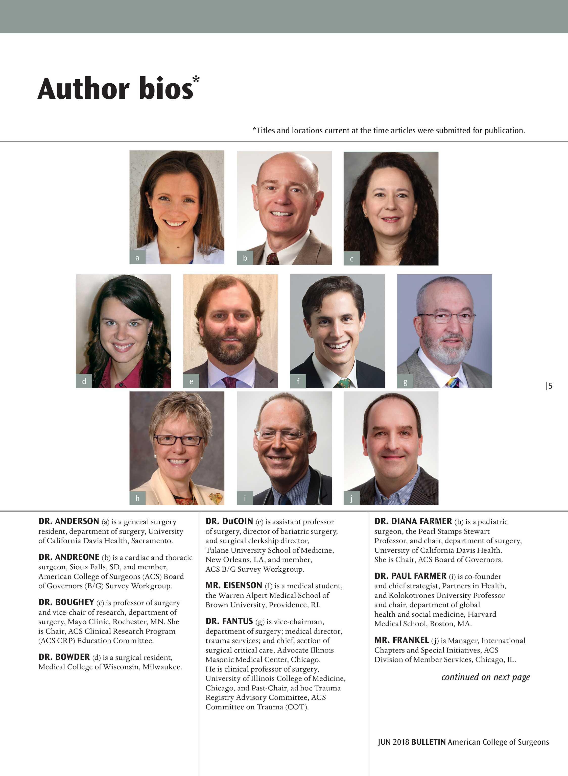 ACS Bulletin - June 2018 - page 4