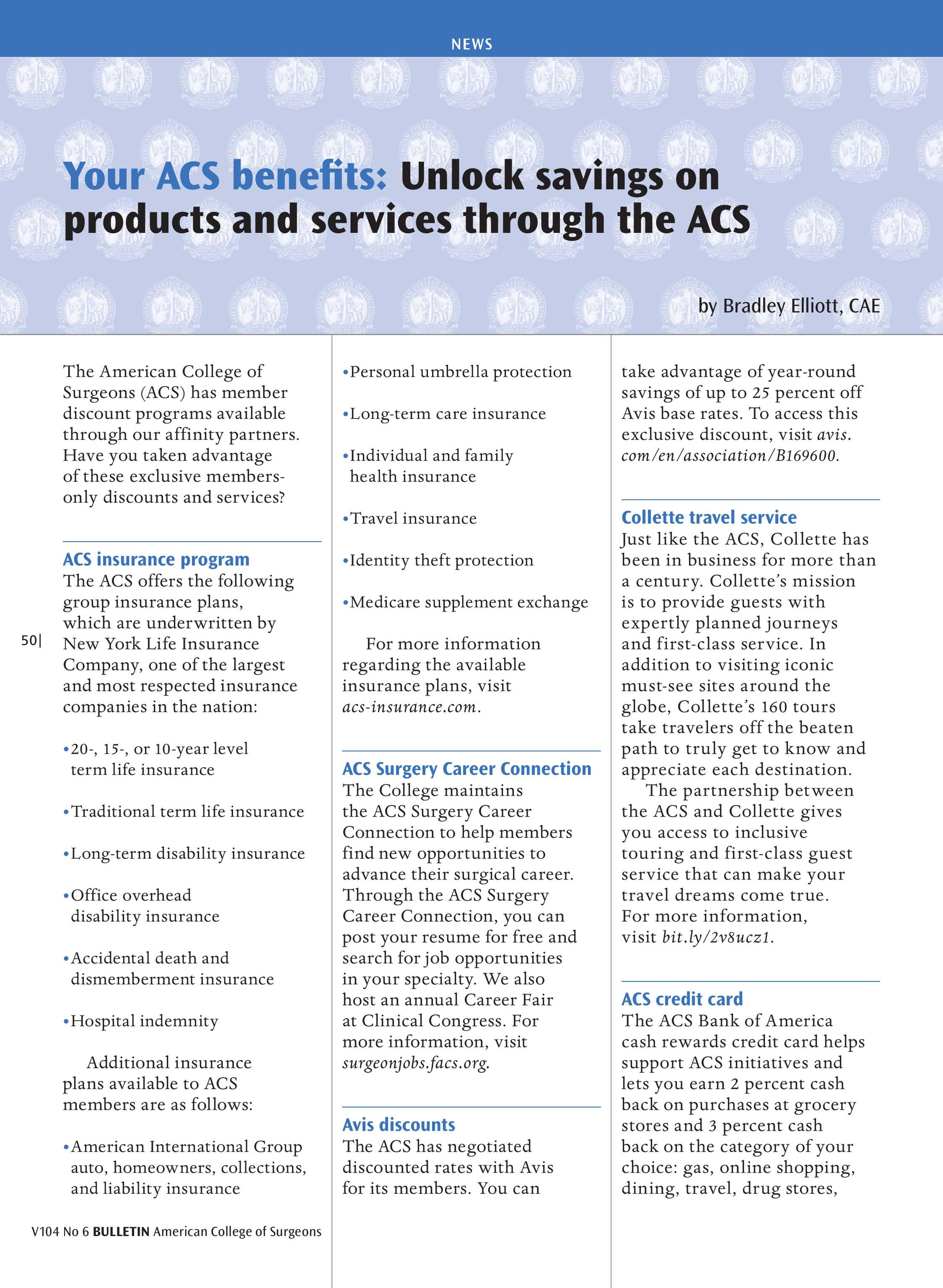ACS Bulletin - June 2019 - page 49