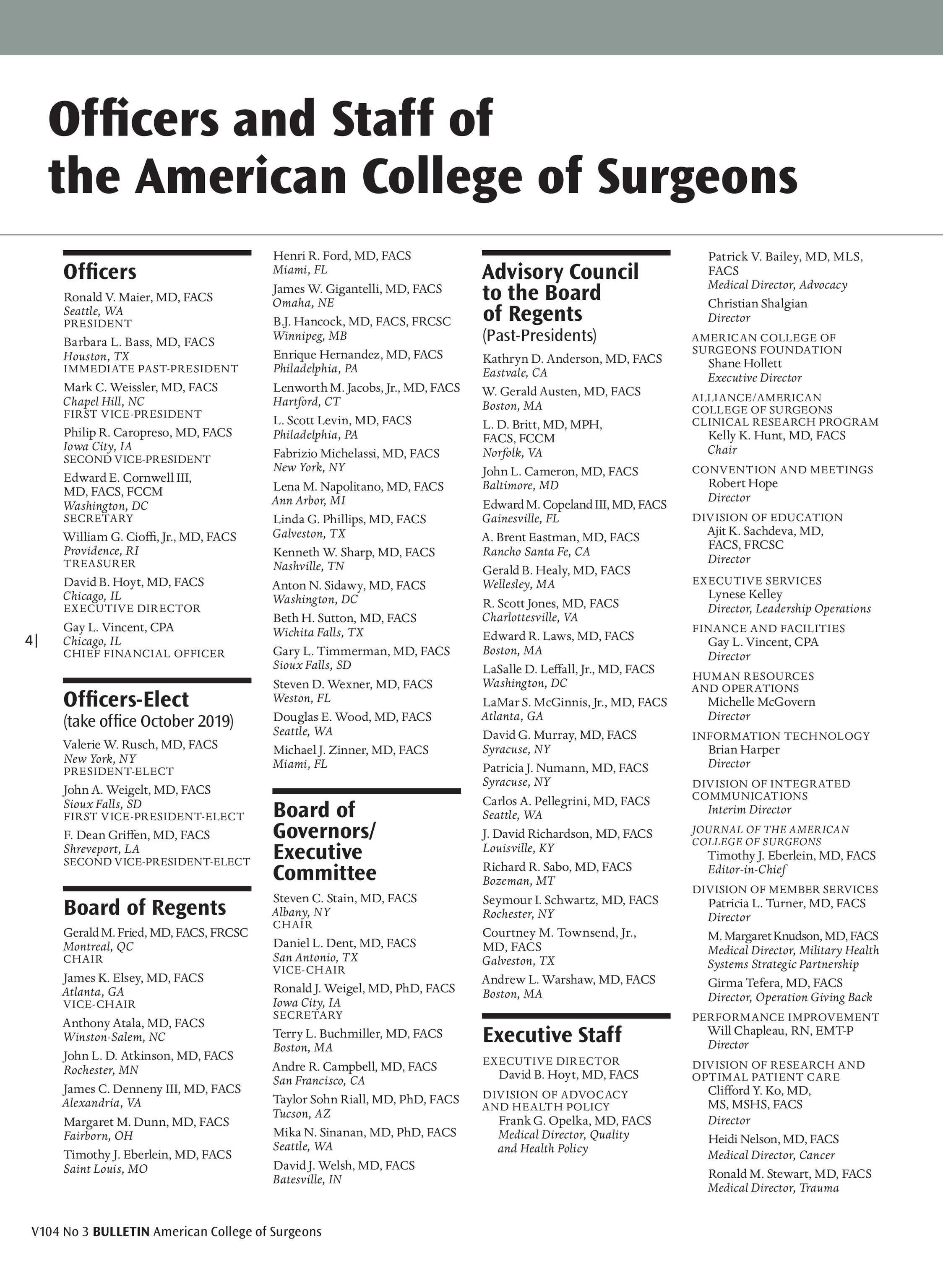ACS Bulletin - June 2019 - page 4