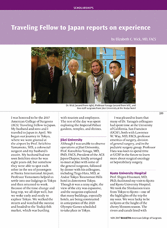 ACS Bulletin - November 2017 - page 89