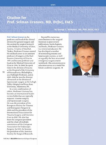 ACS Bulletin - November 2018 - page 76