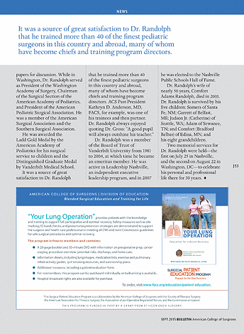 ACS Bulletin - September 2015