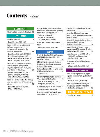 ACS Bulletin - September 2016 - Page 2-3
