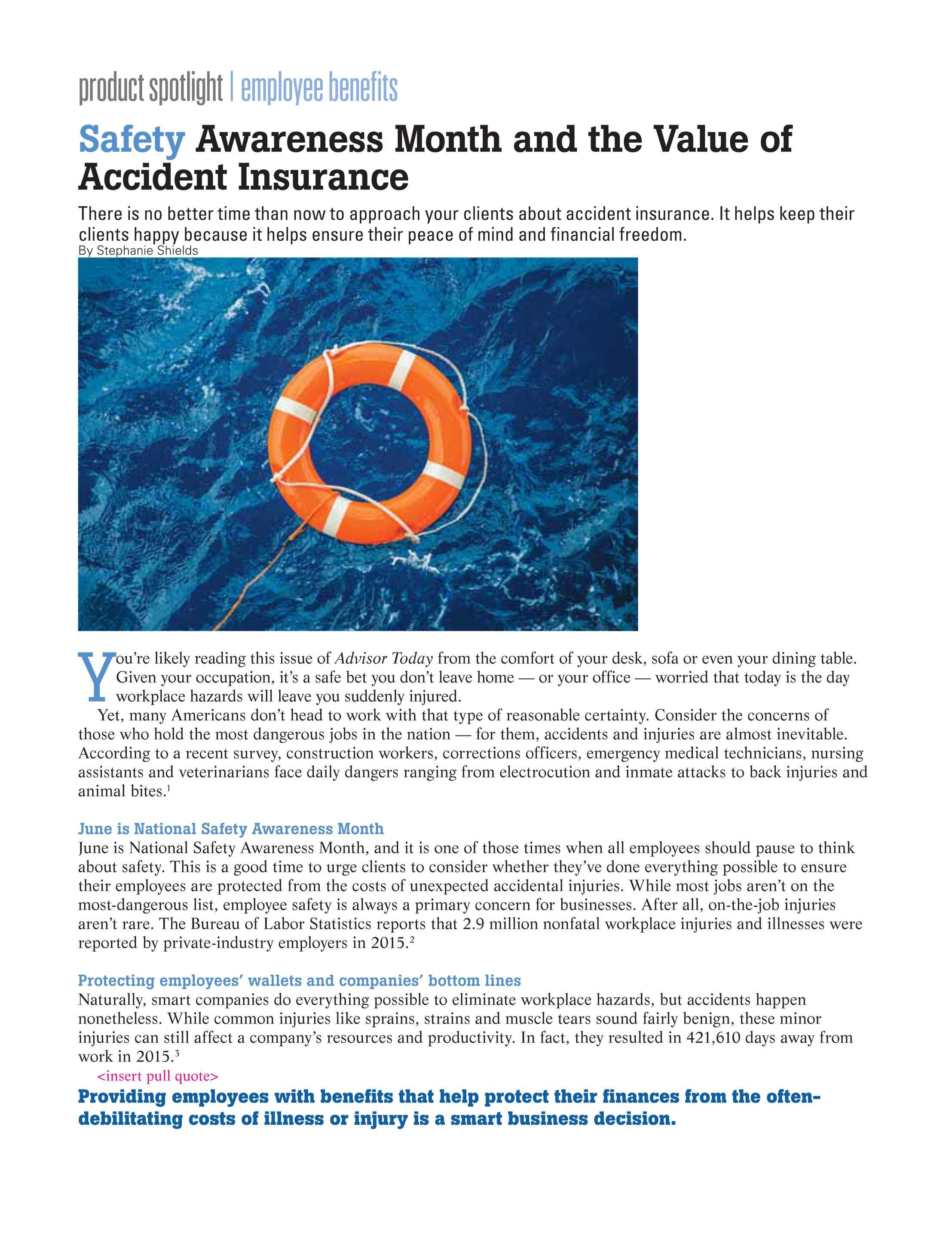 NAIFA Advisor Today - May/June 2017 - page 22
