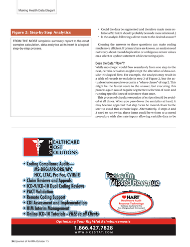 Journal of AHIMA - October 2015 - Page 32-33