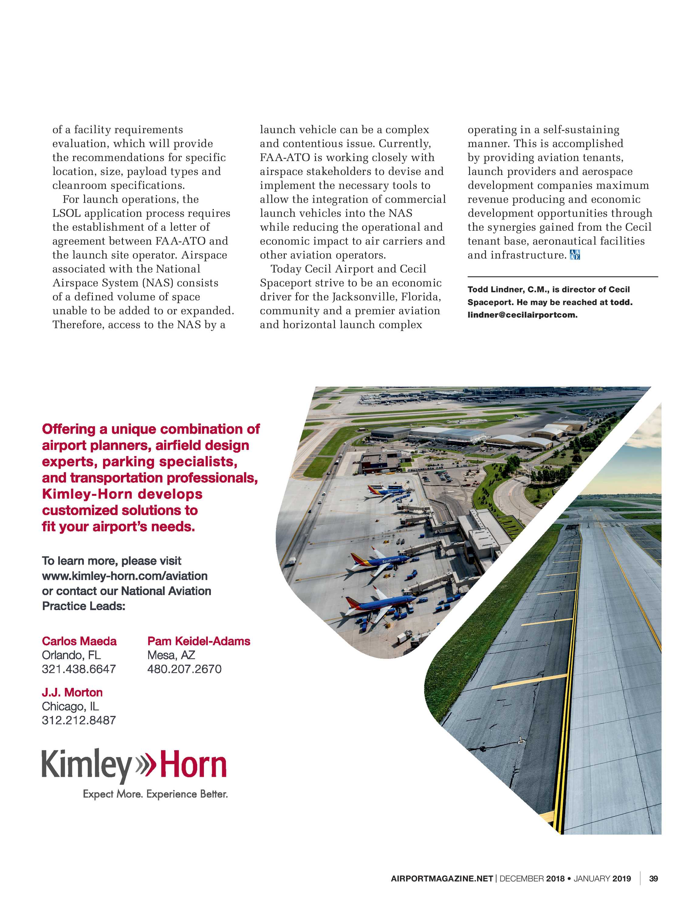Airport Magazine - December 2018/January 2019 - page 38