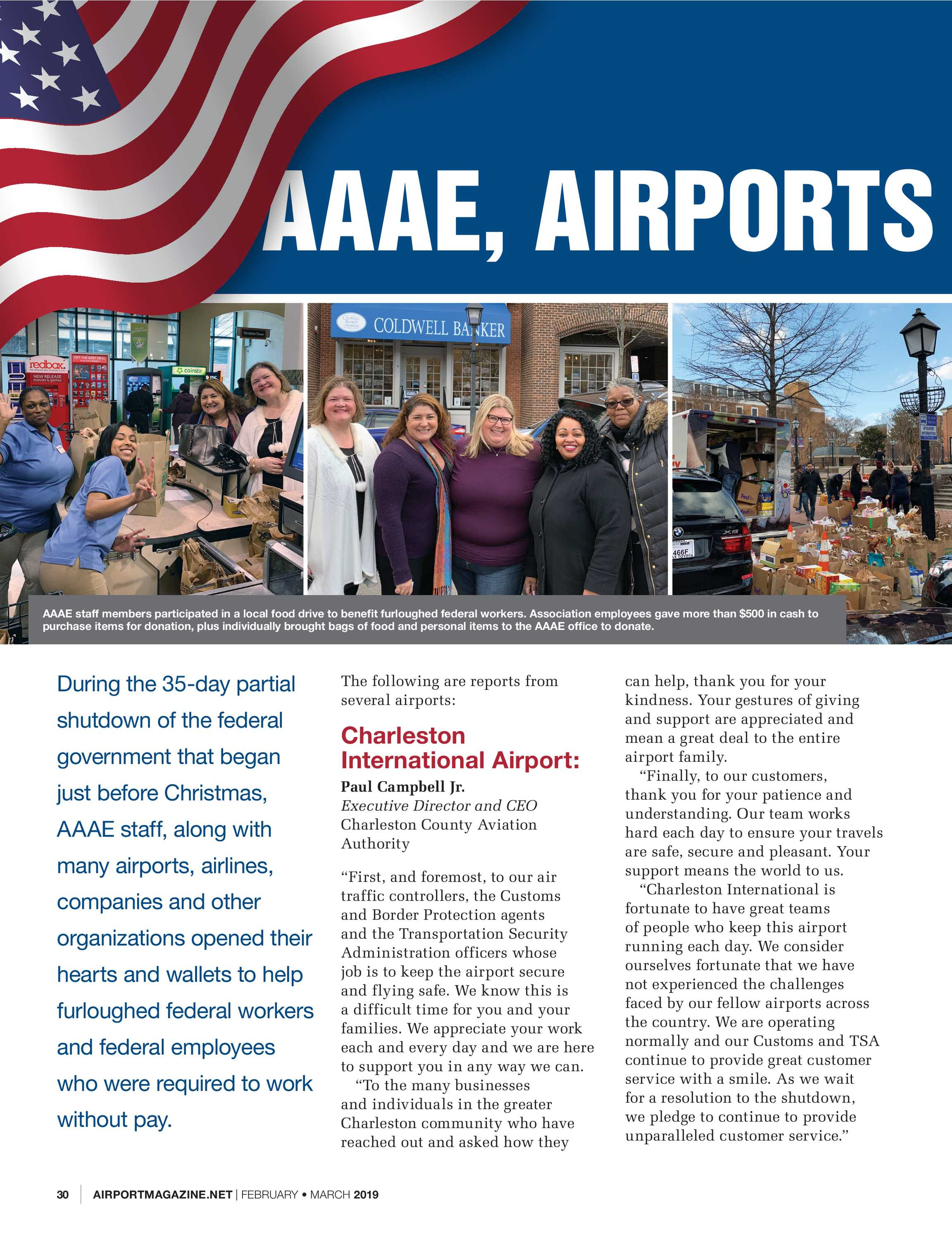 Airport Magazine - February/March 2019 - page 30
