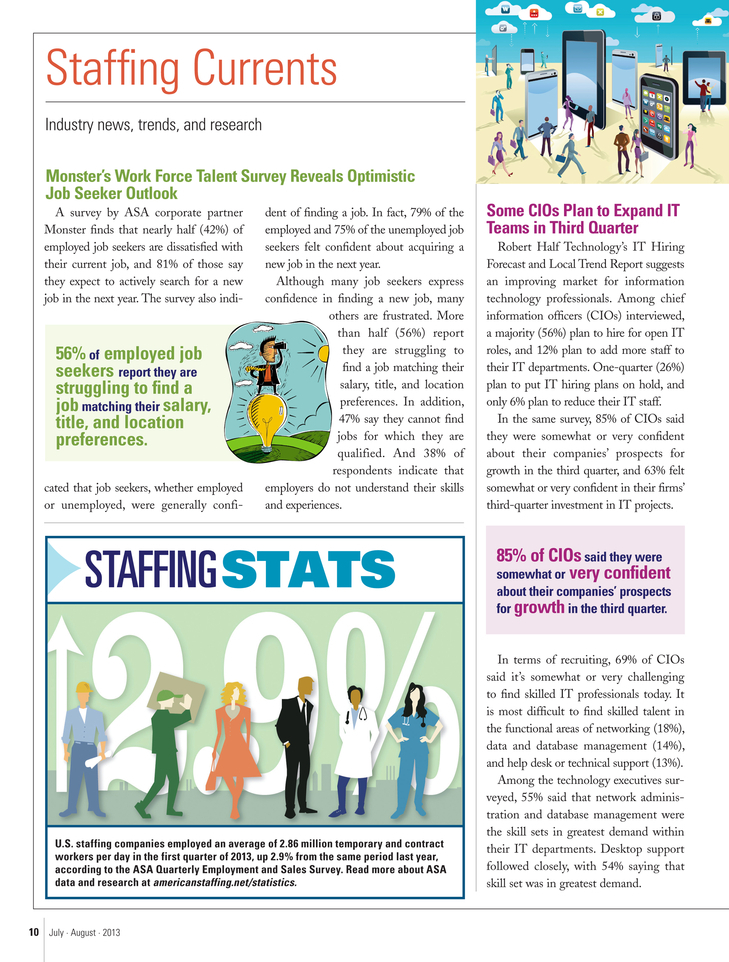 Last Sunday In August Felt More Like >> Asa Staffing Success July August 2013 Page 10