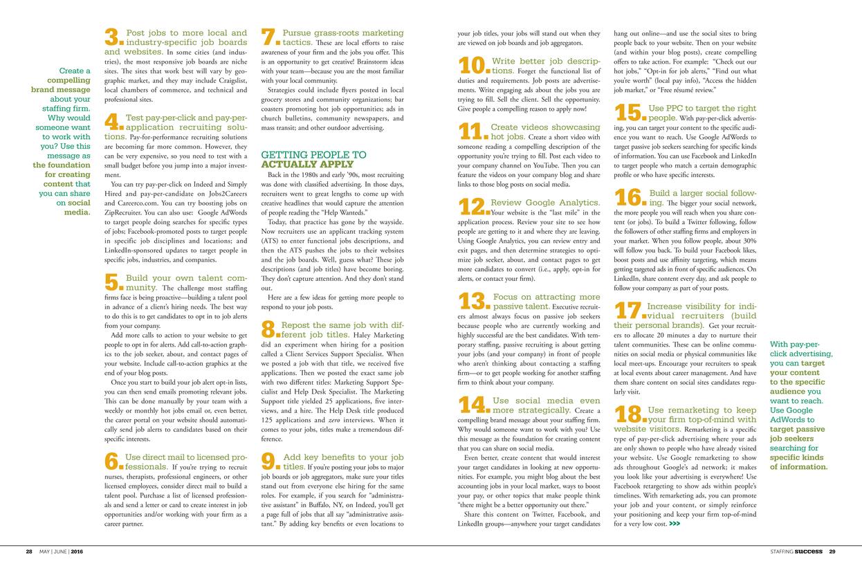 ASA Staffing Success - May–June 2016 - Page 28-29