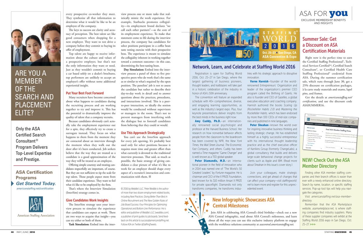 asa staffing success may june 2016 page 44 45