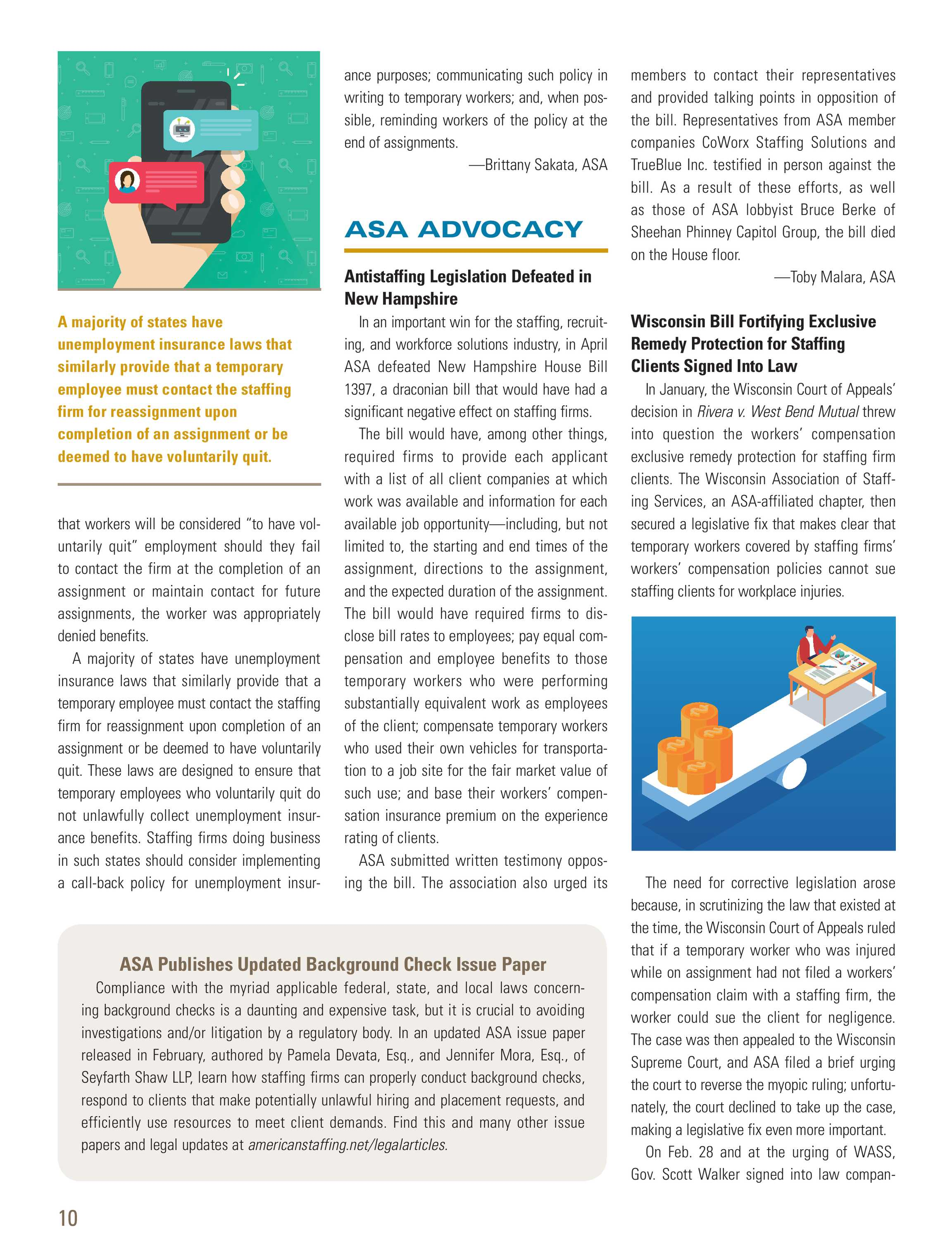 Asa Staffing Success Staffing Law 2018 No 2 Page 9