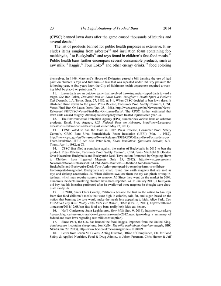 Annals Of Health Law Vol 23 Issue 2 Page 23