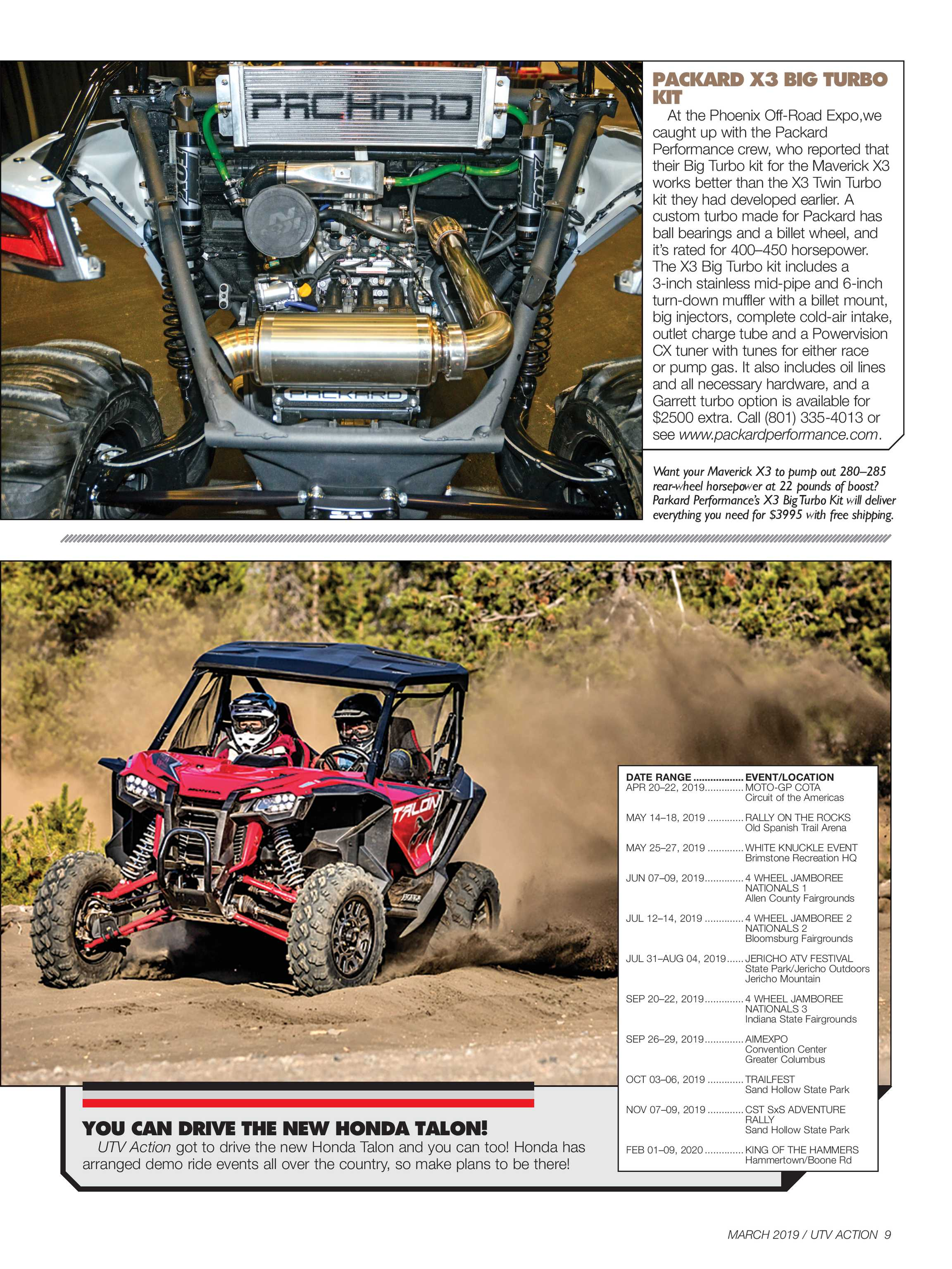 UTV Action Magazine - March 2019 - page 8