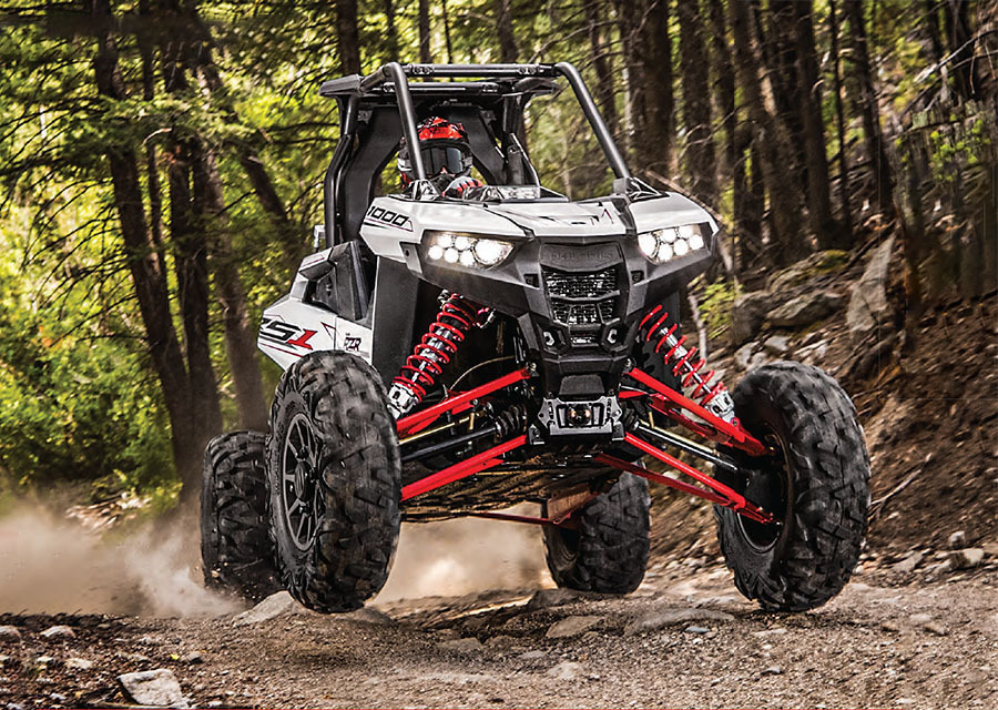 UTV Action Magazine - May 2018 - 10 RZR RS1 Fast Facts