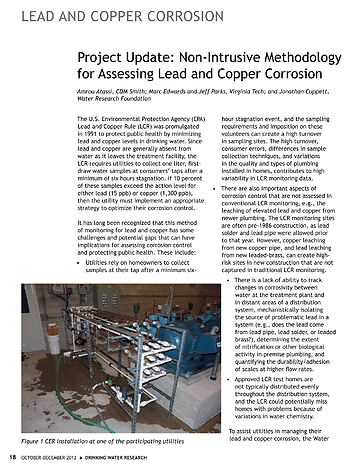 Drinking Water Research - October-December 2012 Volume 22