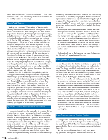 Baptist Bulletin - July/August 2016 - Page 34-35