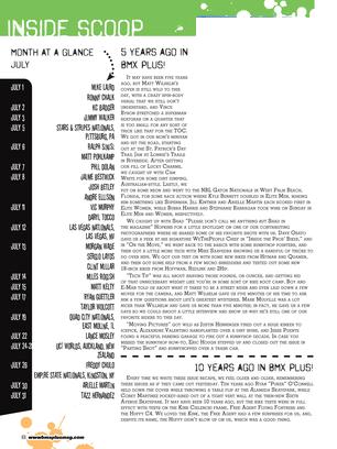 BMX Plus Magazine - July 2013 - Page 8-9