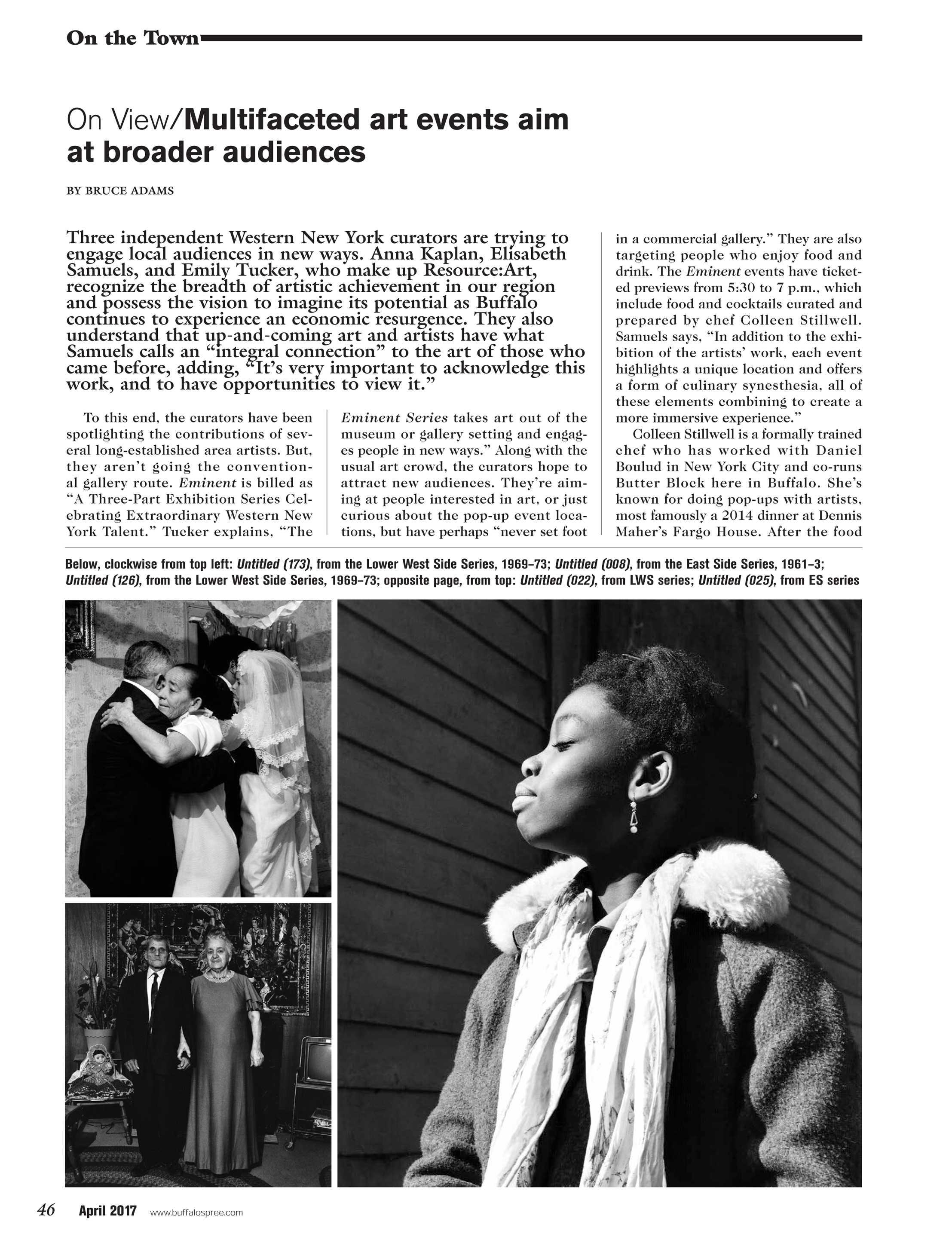 c116ac32b48 Buffalo Spree - April 2017 - page 46