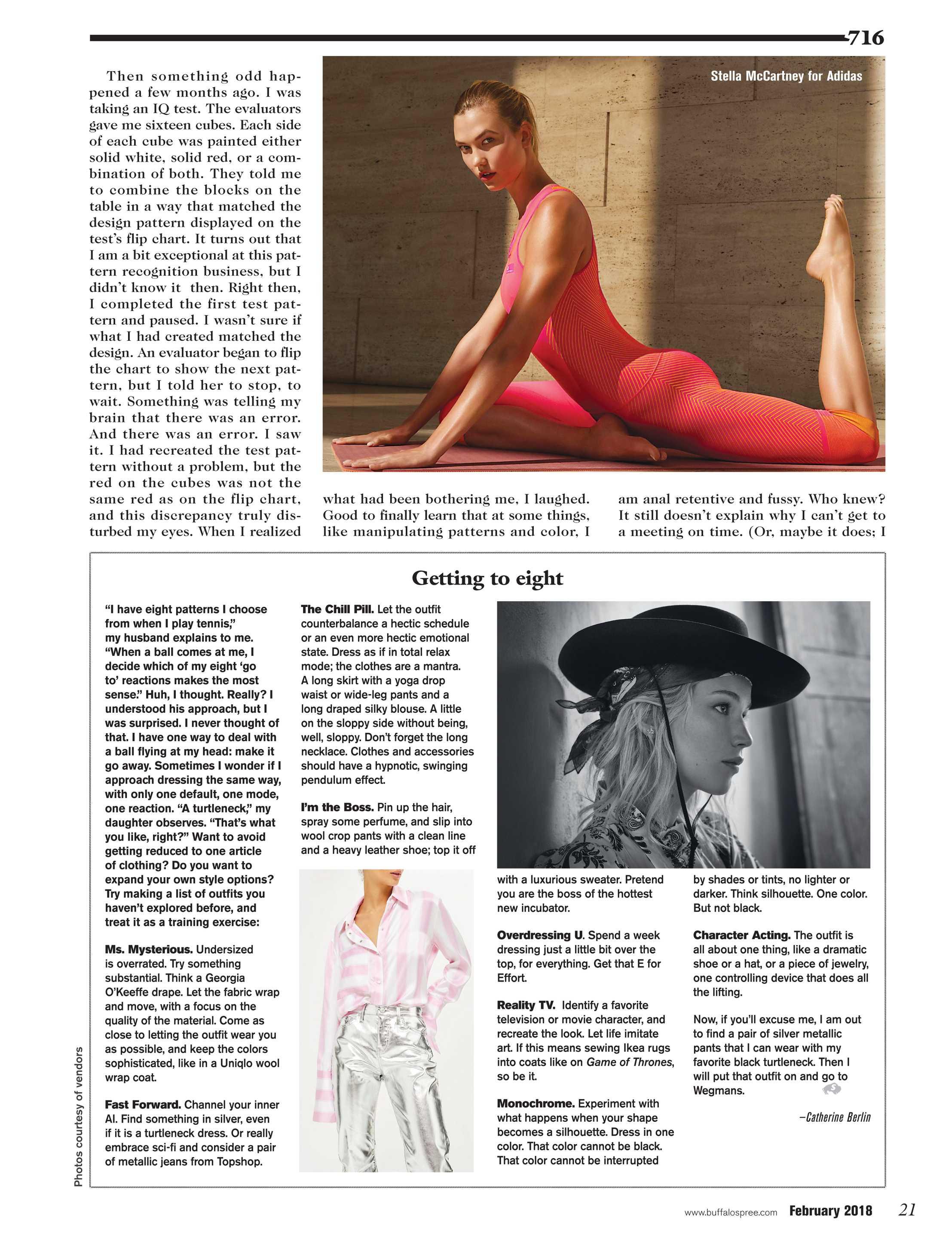 ea5b527f2c3 Buffalo Spree - February 2018 - page 21