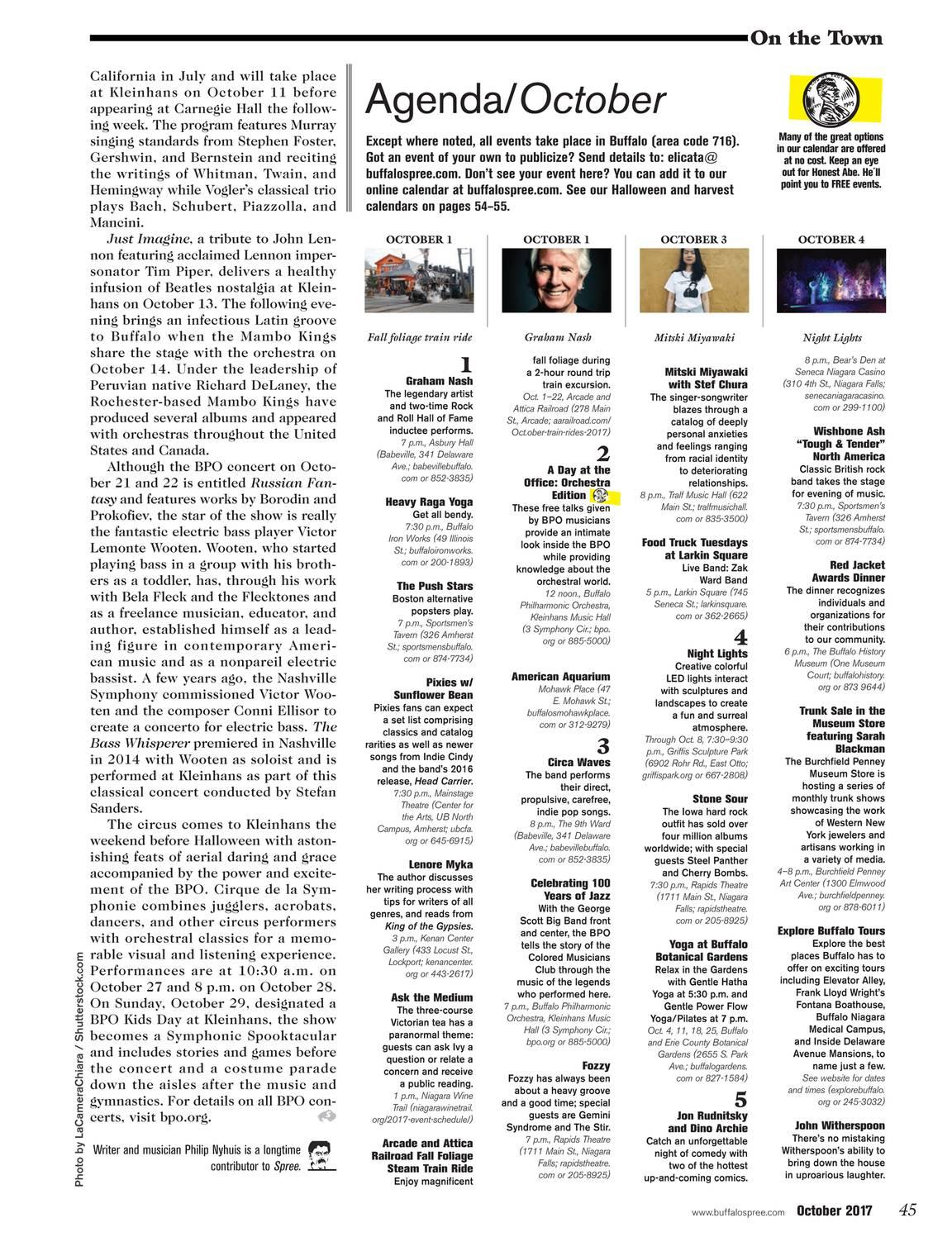 Buffalo Spree - October 2017 - page 46