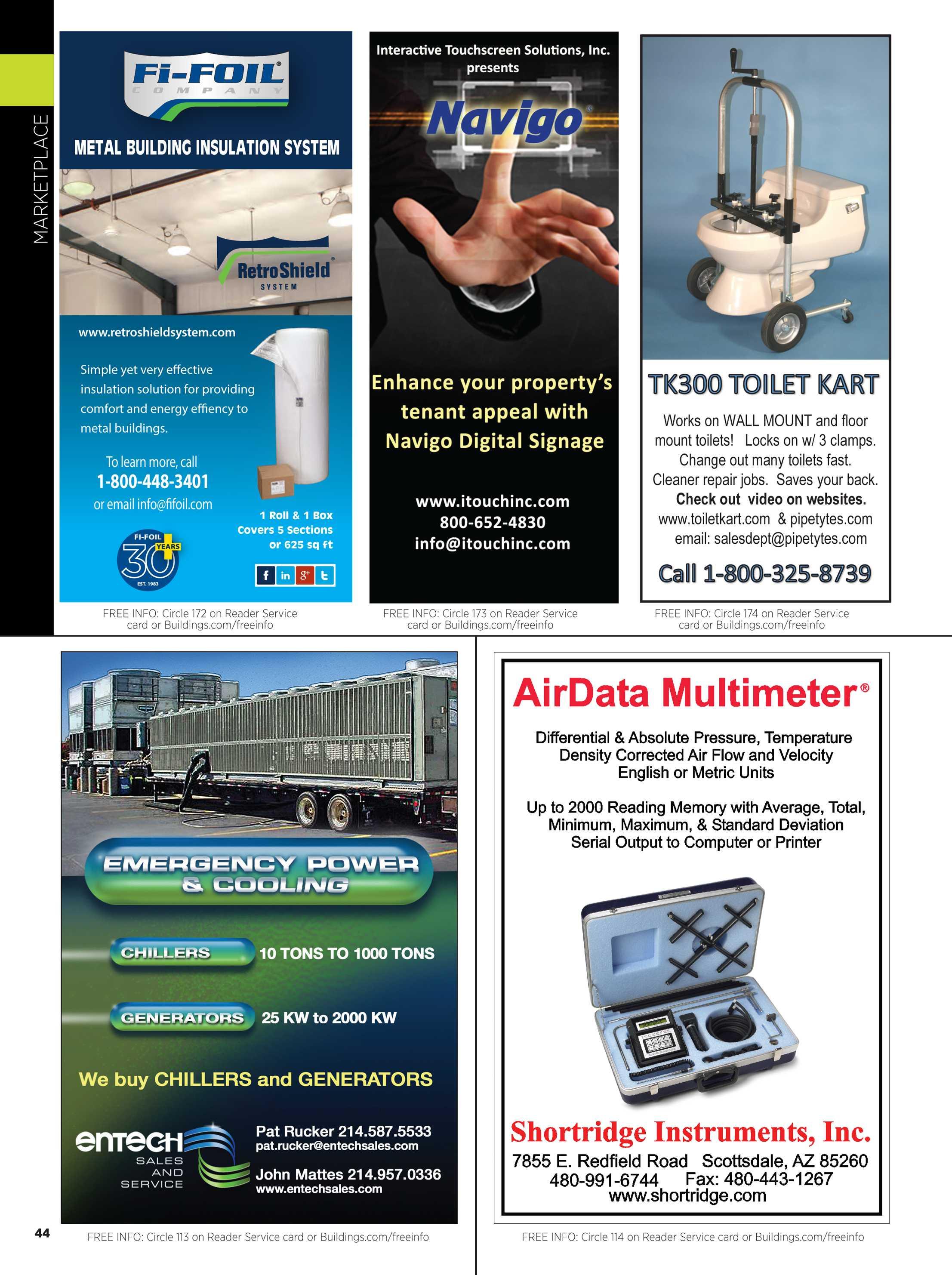 Buildings Magazine - April 2015 - page 44