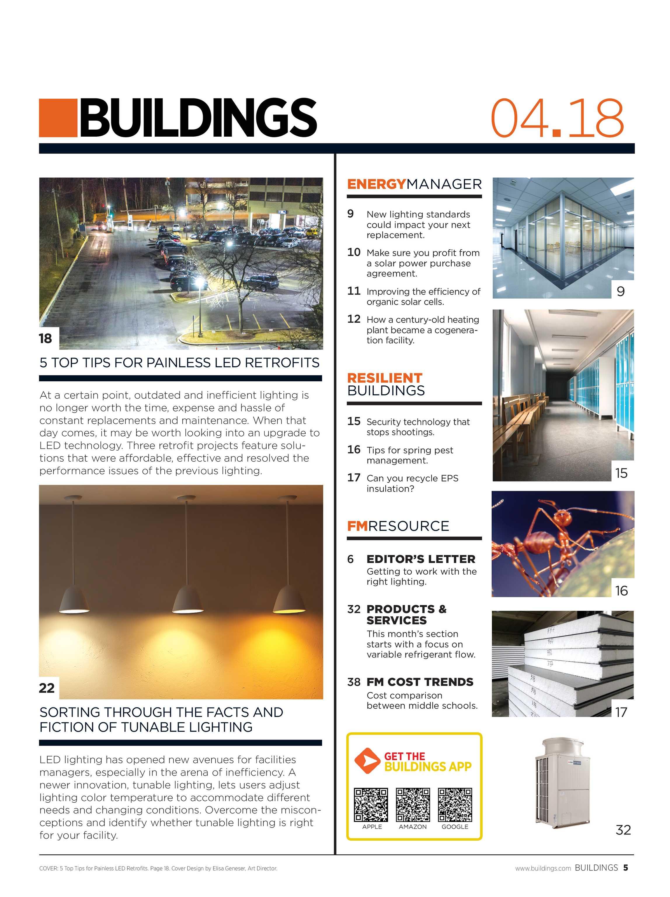 Buildings Magazine April 2018 Page 5