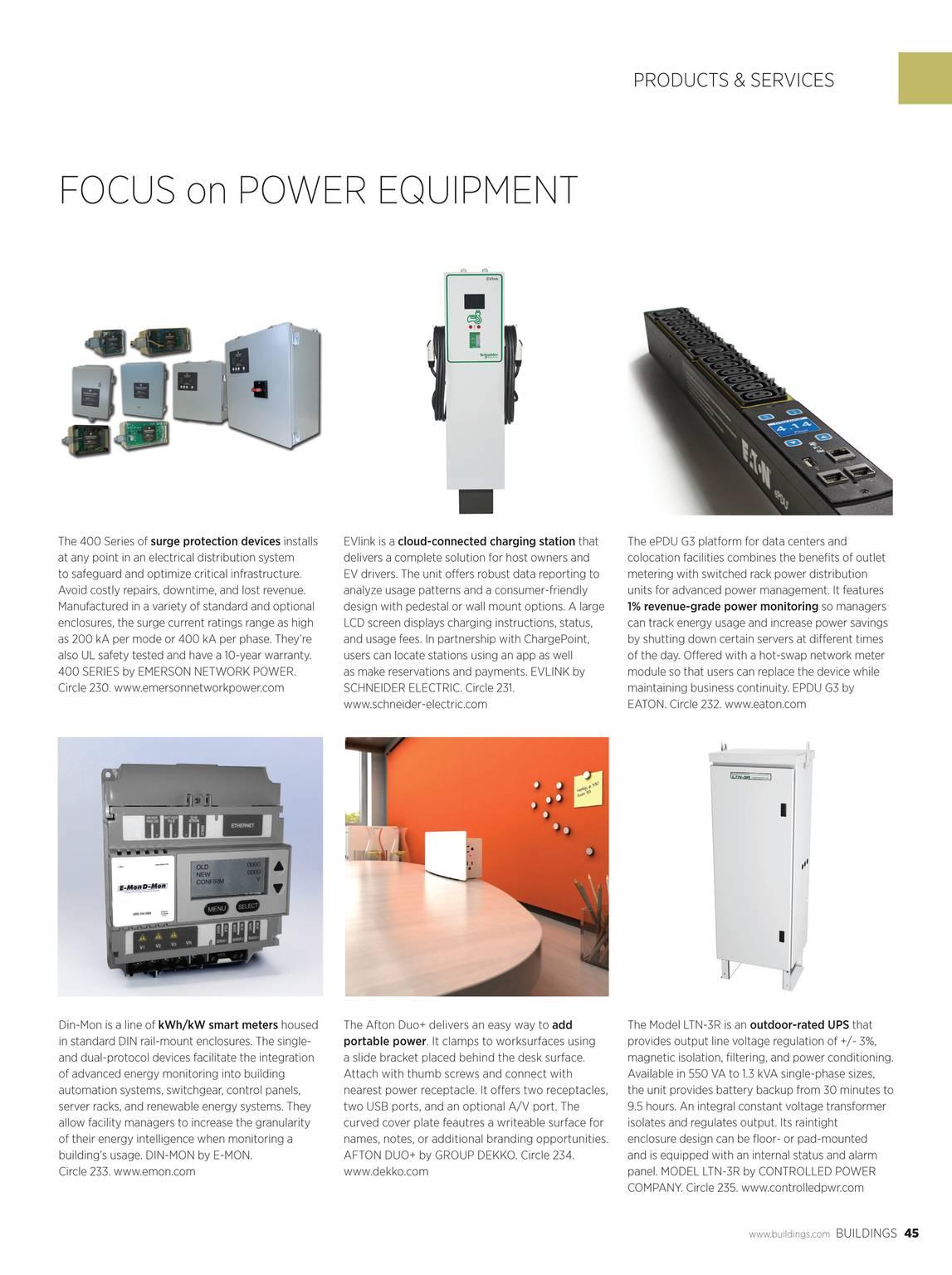 Buildings Magazine - Buildings 12/2014 - page 45