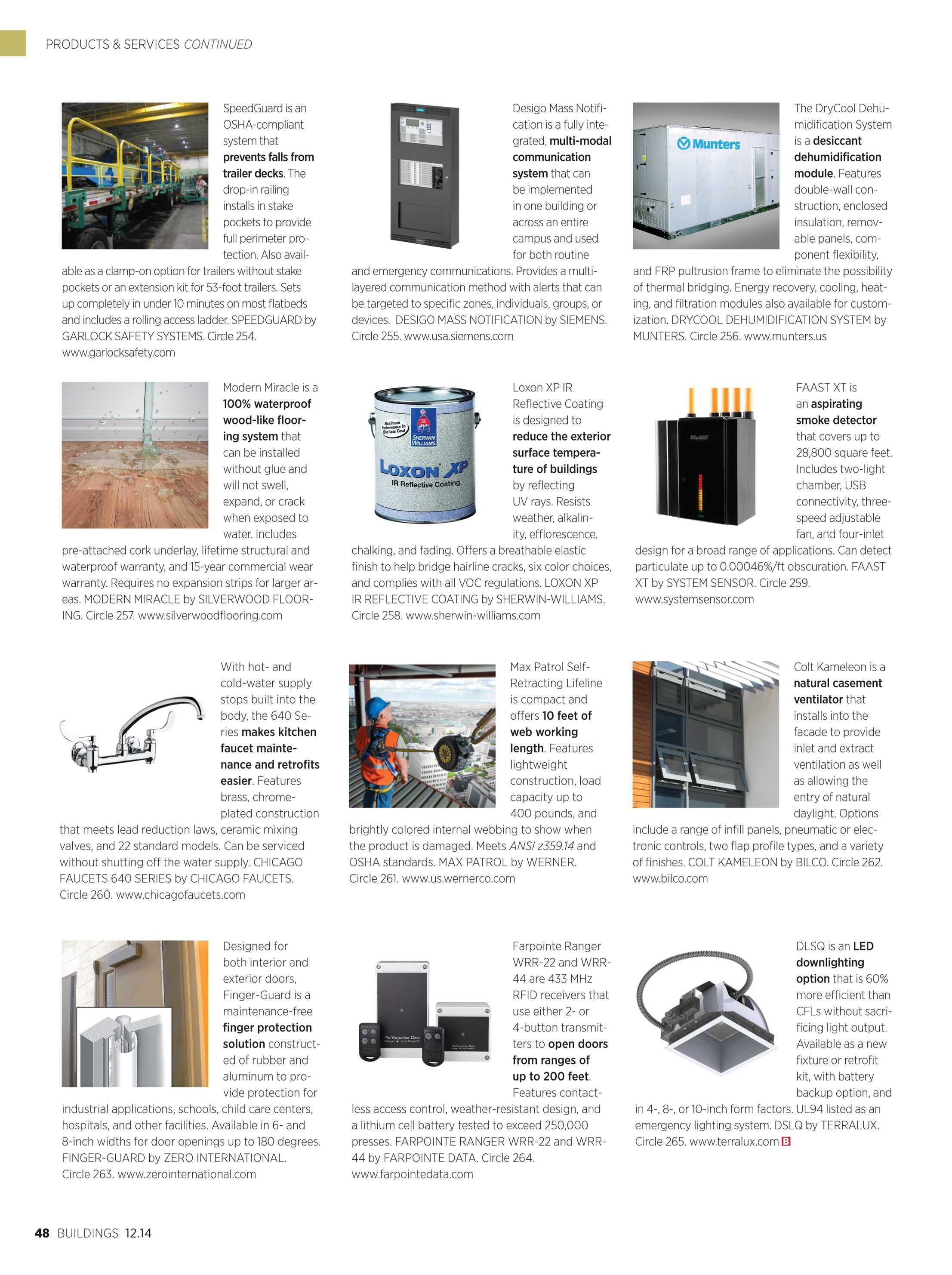 Buildings Magazine - Buildings 12/2014 - page 48