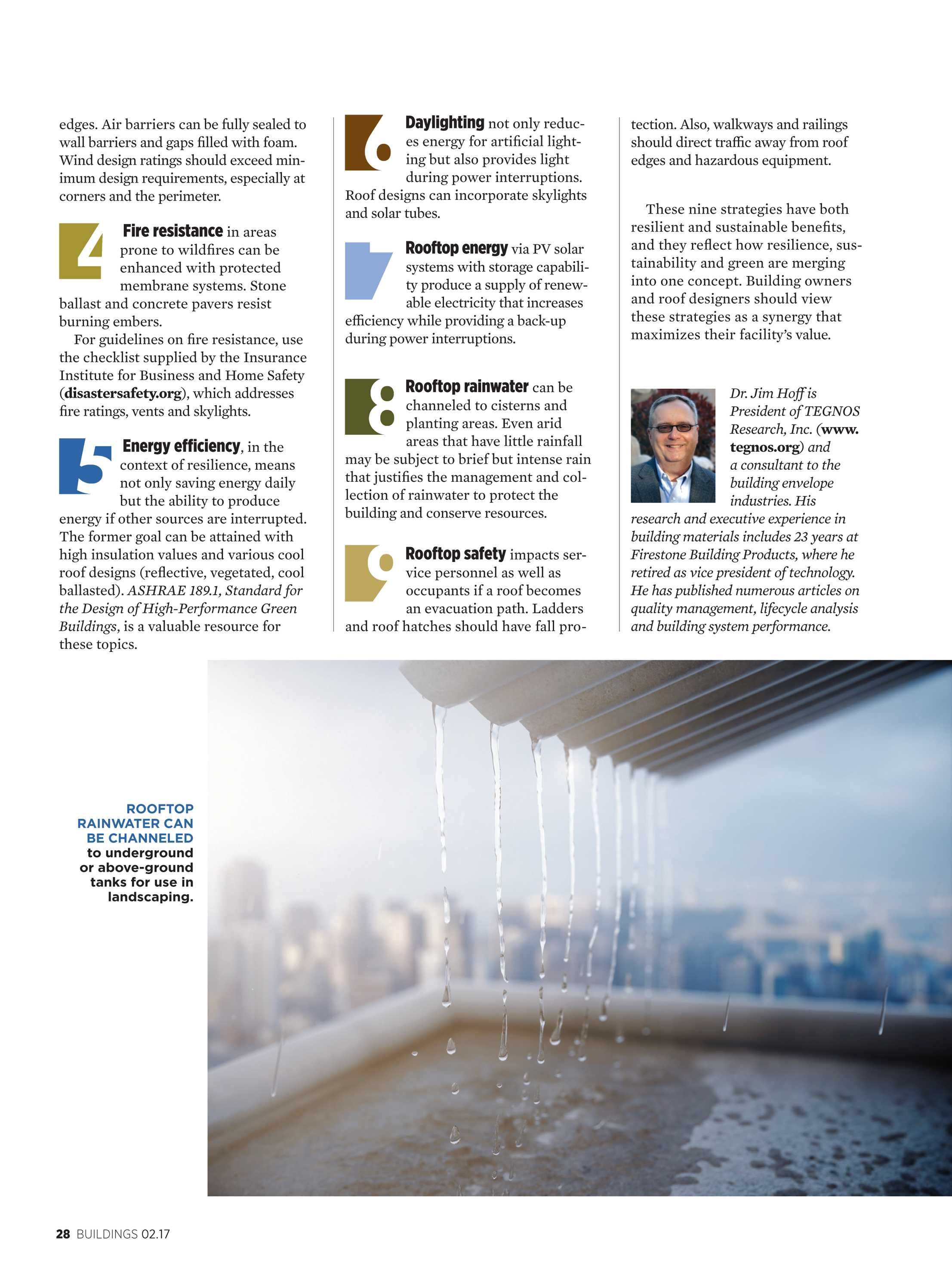 Buildings Magazine - February 2017 - page 28