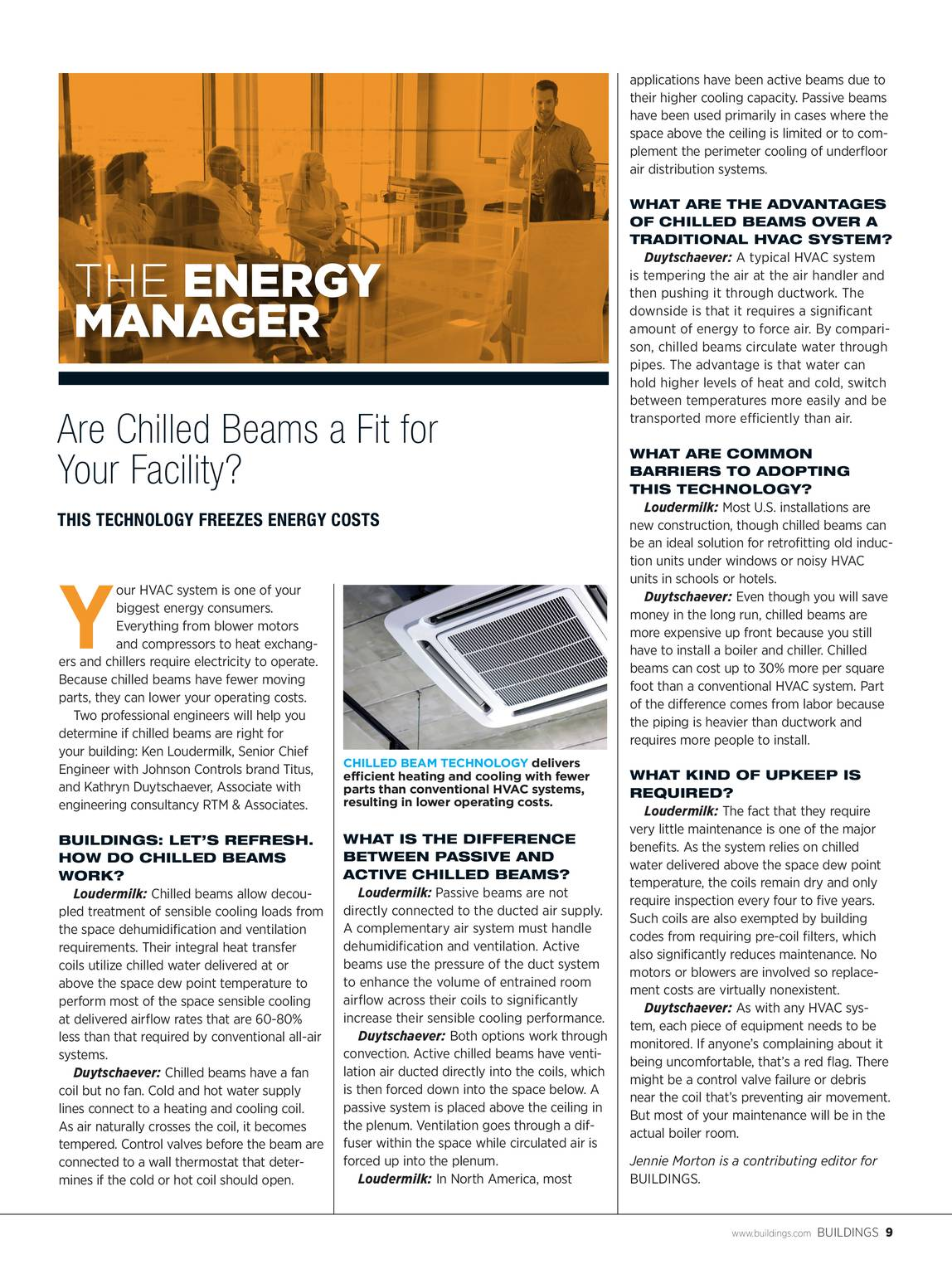 Buildings Magazine - March 2018 - page 8