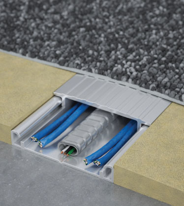 Under Carpet Wiring System Connectrac In Carpet Power Voice And Data