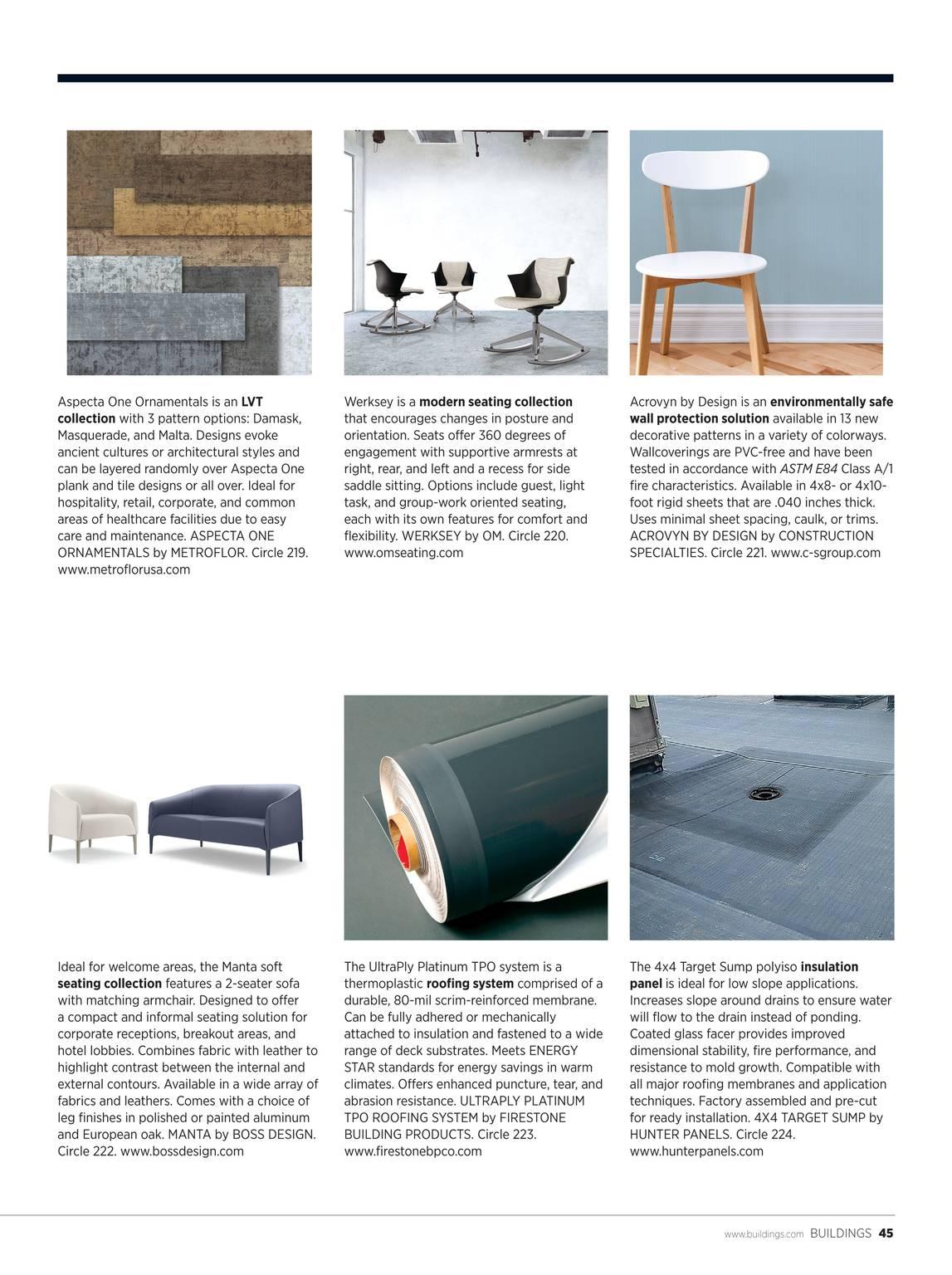 Buildings Magazine - November 2017 - page 46