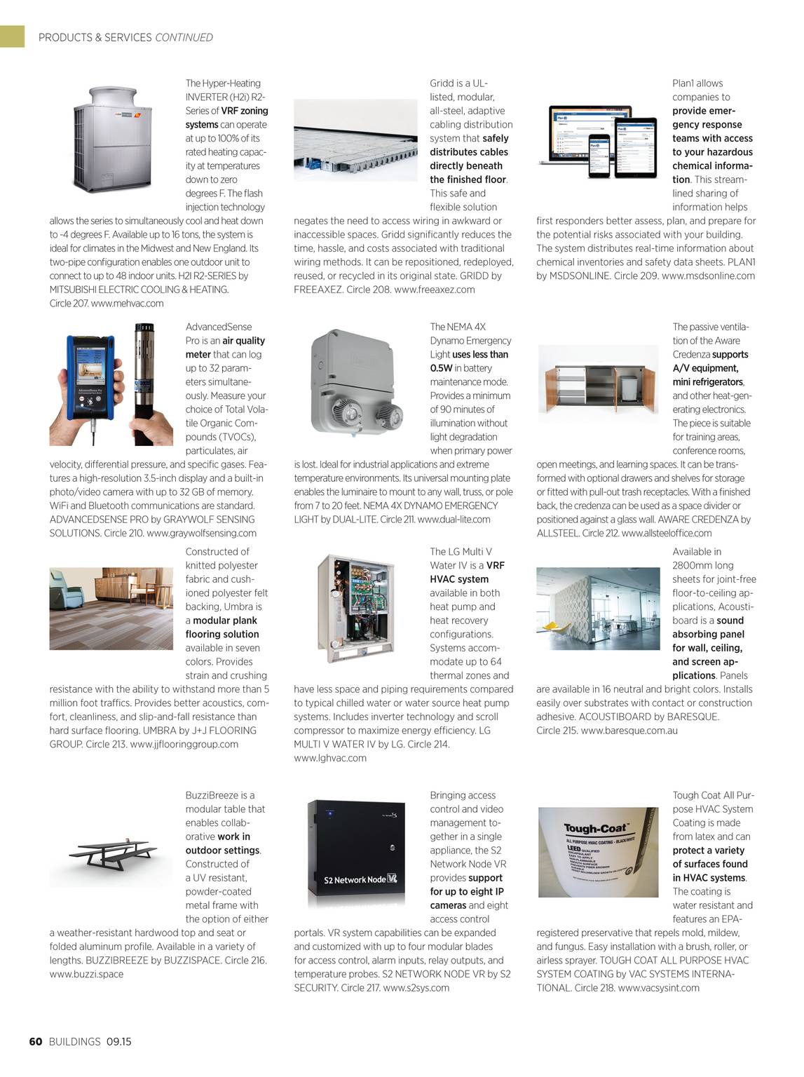 Buildings Magazine - September 2015 - page 59
