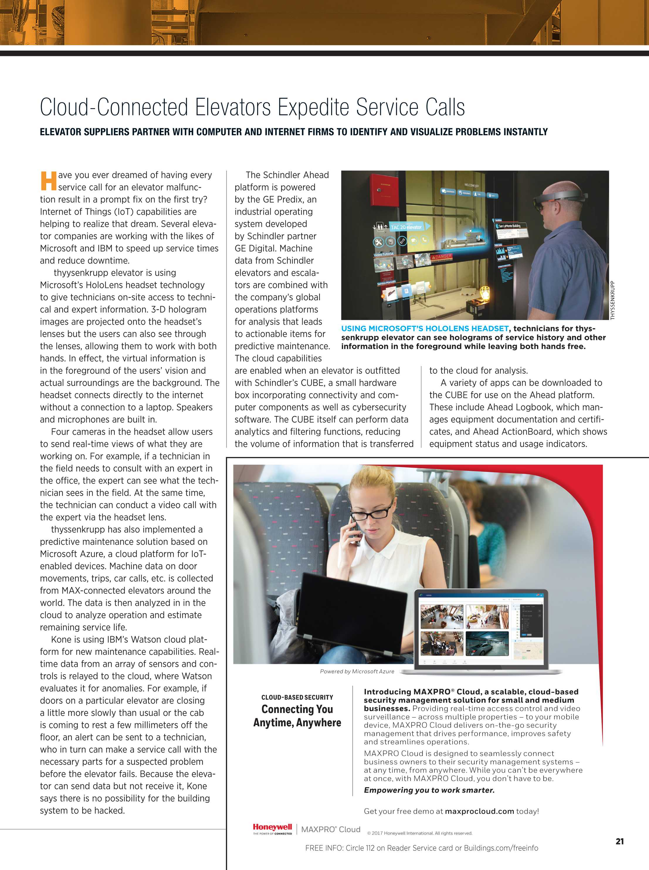 Buildings Magazine - September 2017 - page 21