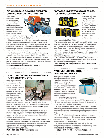 Canadian Metalworking - October 2016 - Page FW26-FW27