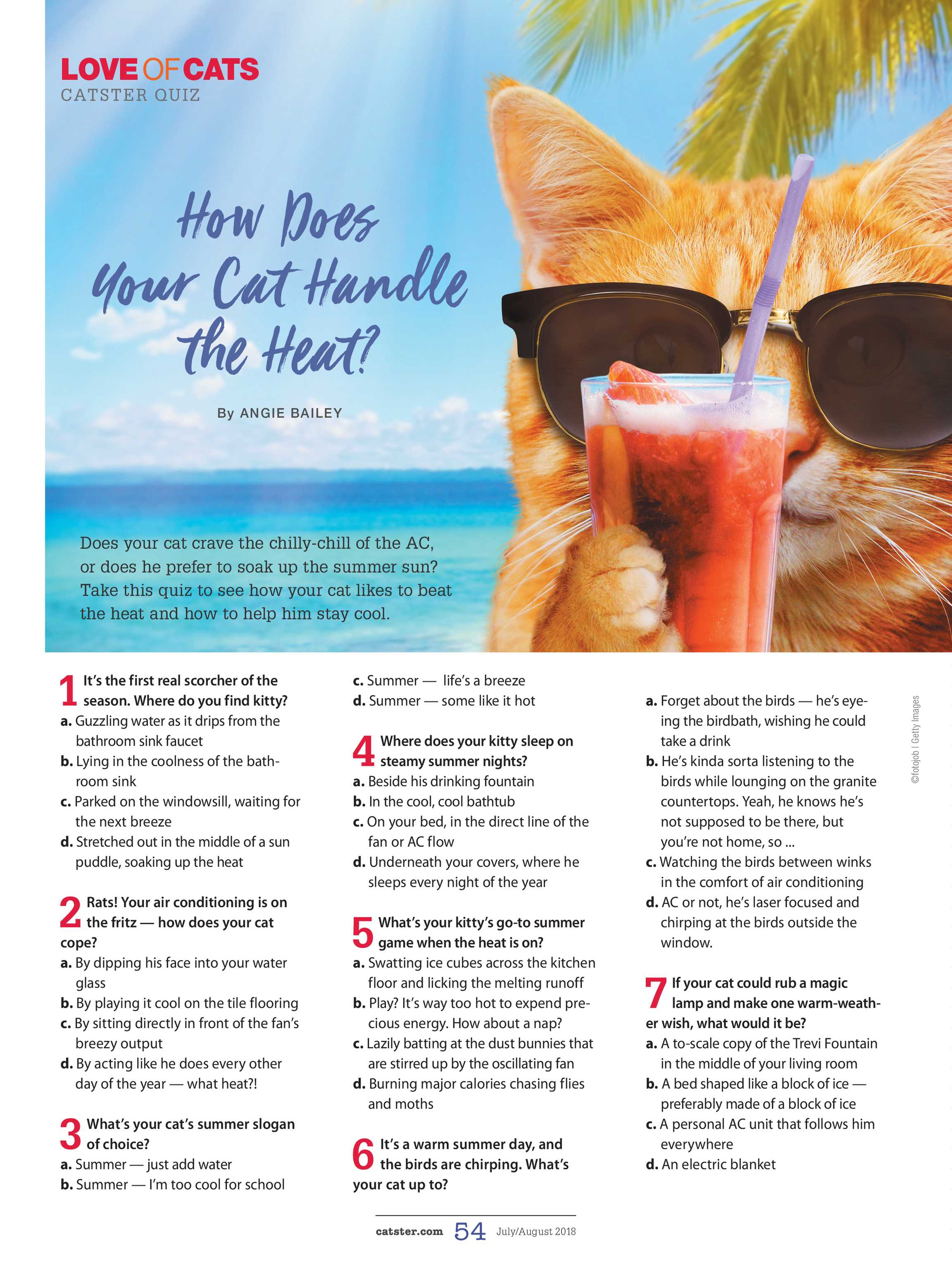 Catster Magazine - July/August 2018 - page 54