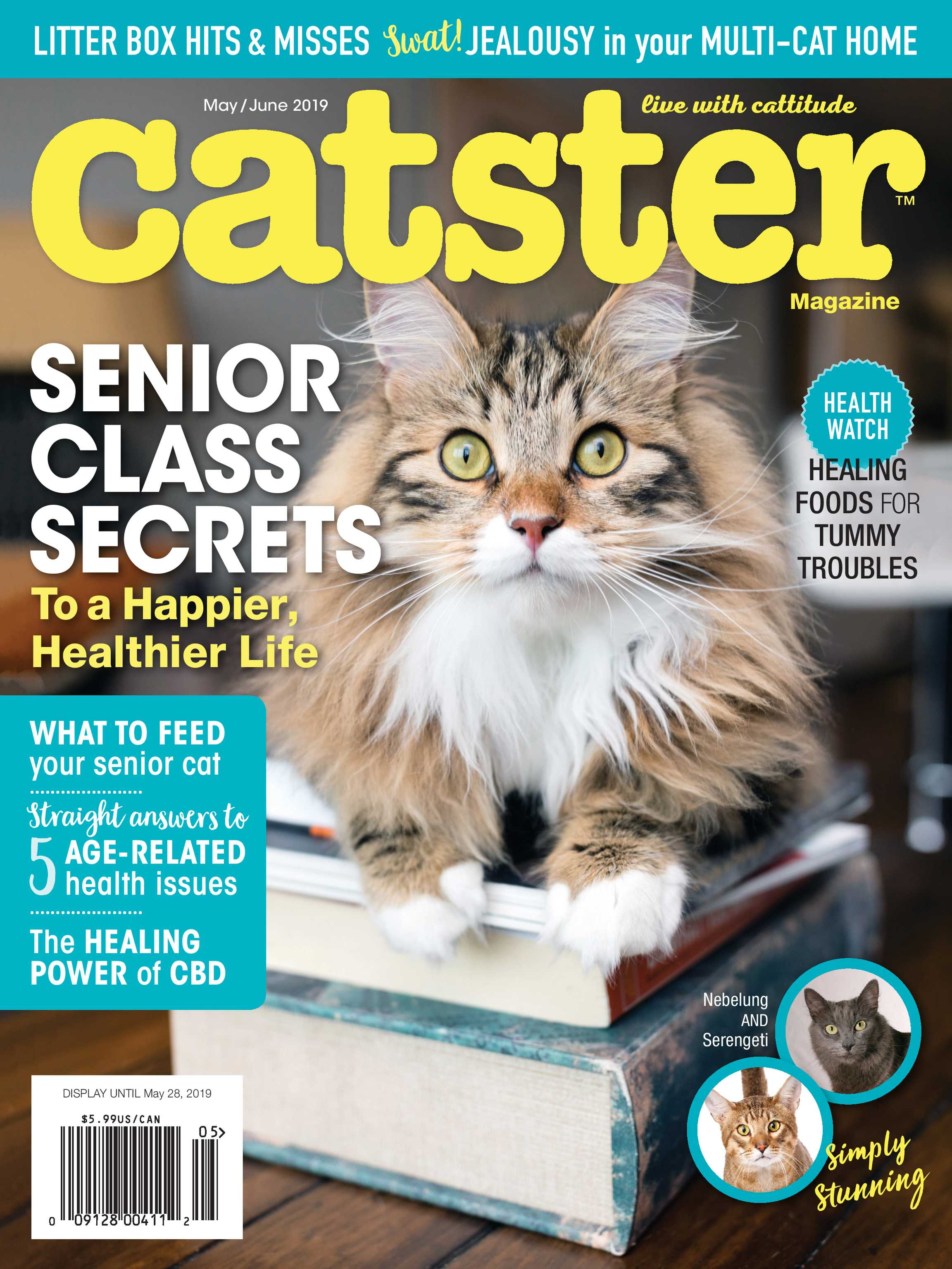 ec3184931c Catster Magazine - May   June 2019 - page Cover