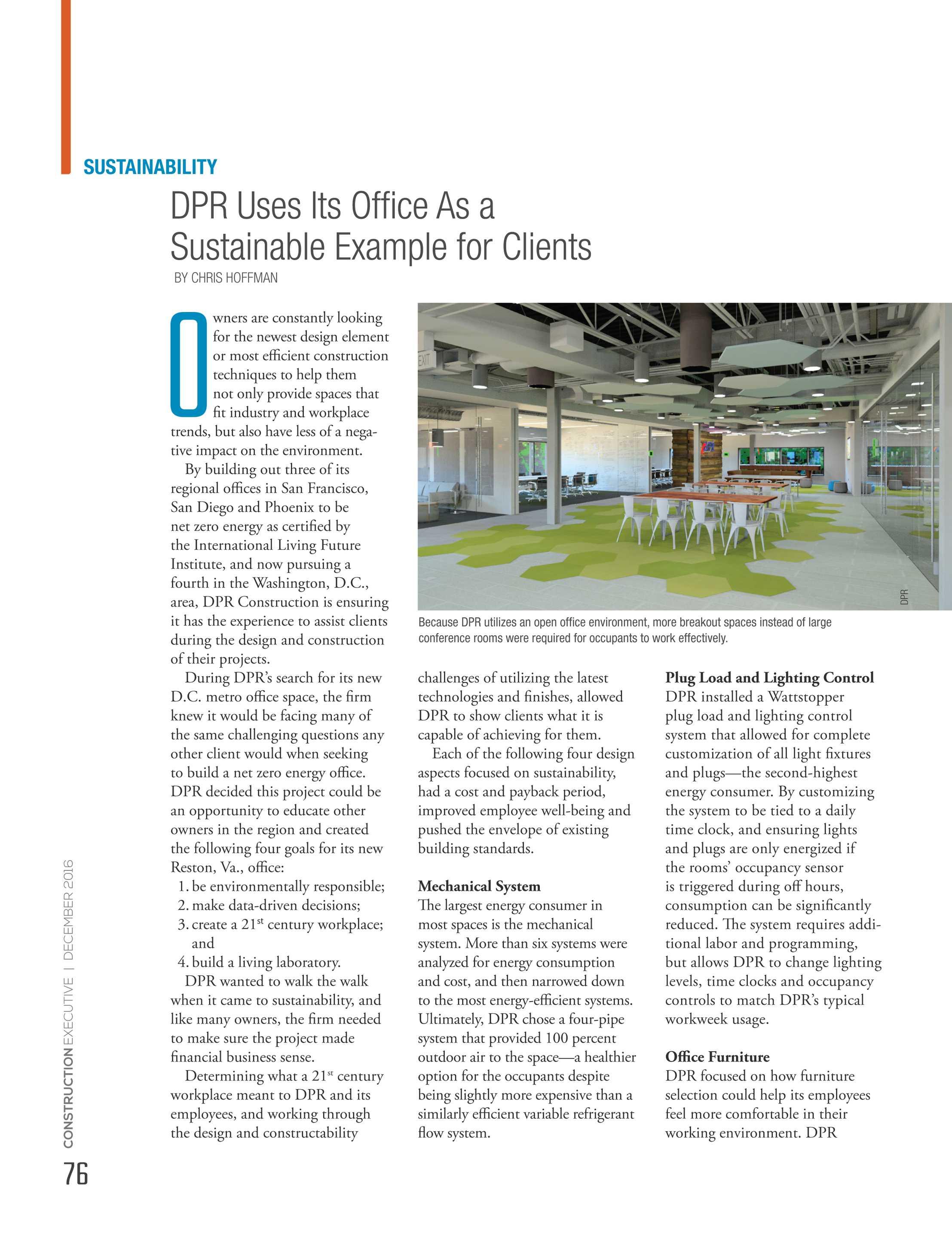 Construction Executive Magazine - December 2016 - page 76