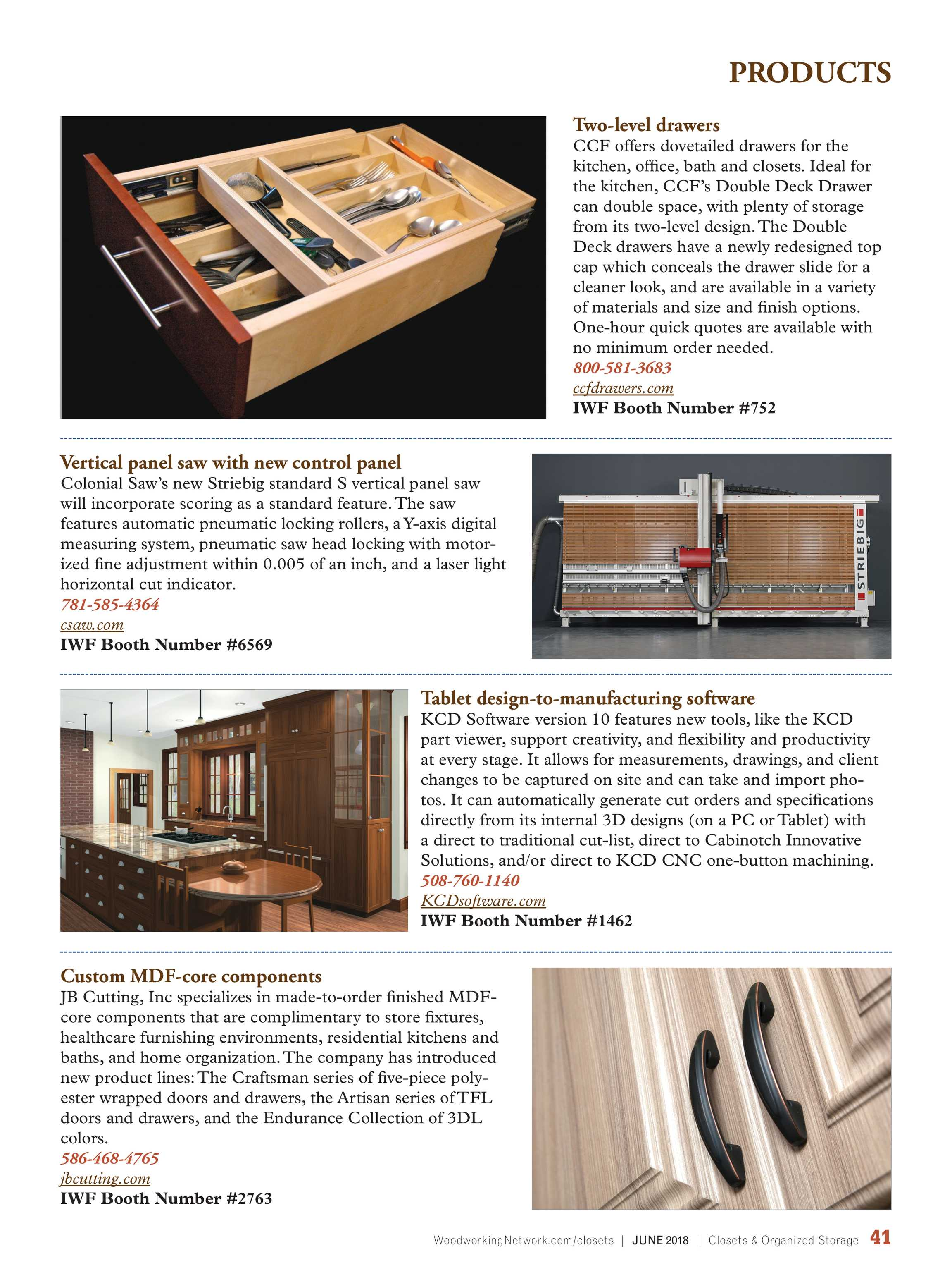 Closets Magazine - June_2018 - page 41