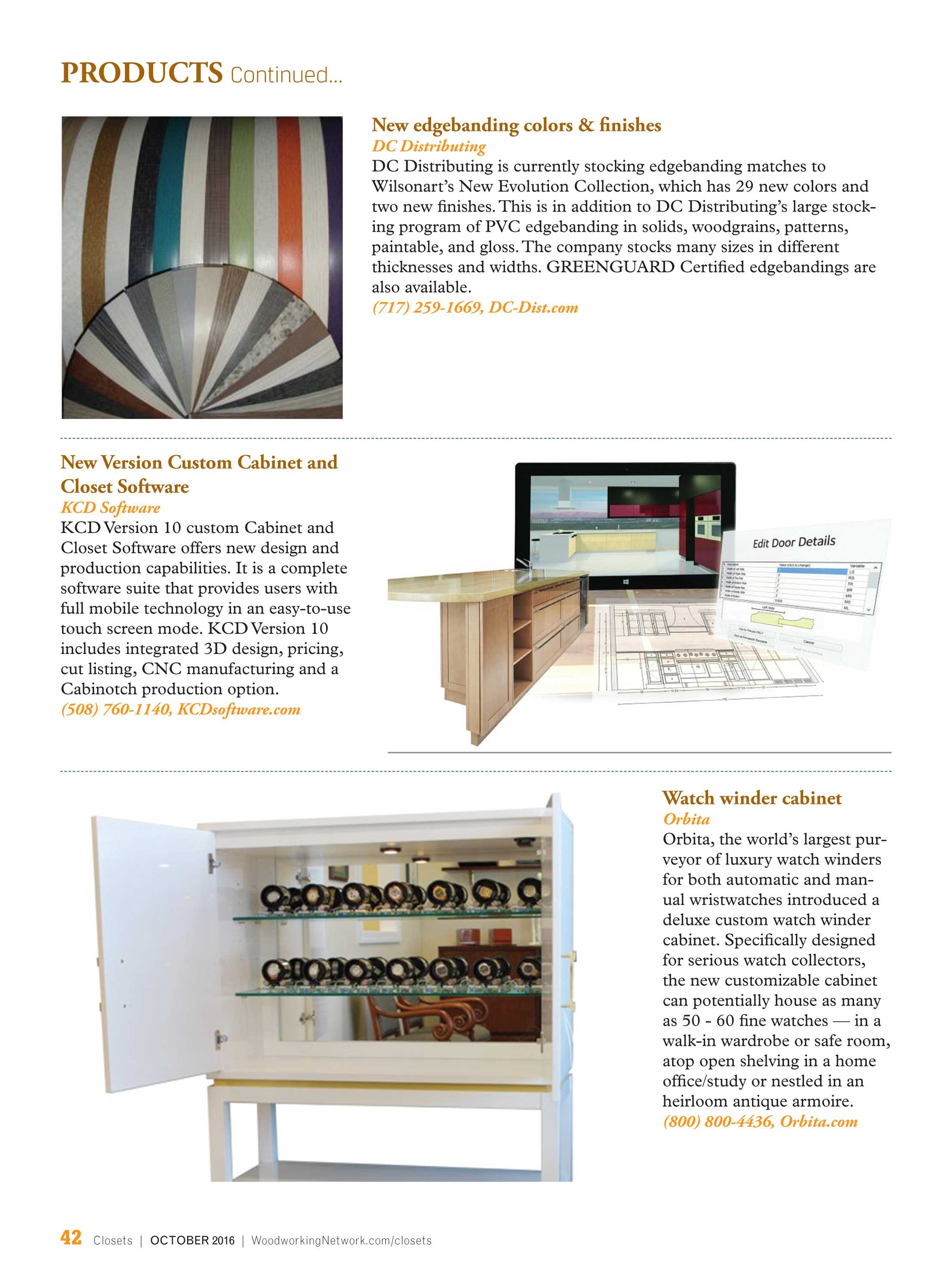 Closets Magazine October 2016 Page 42