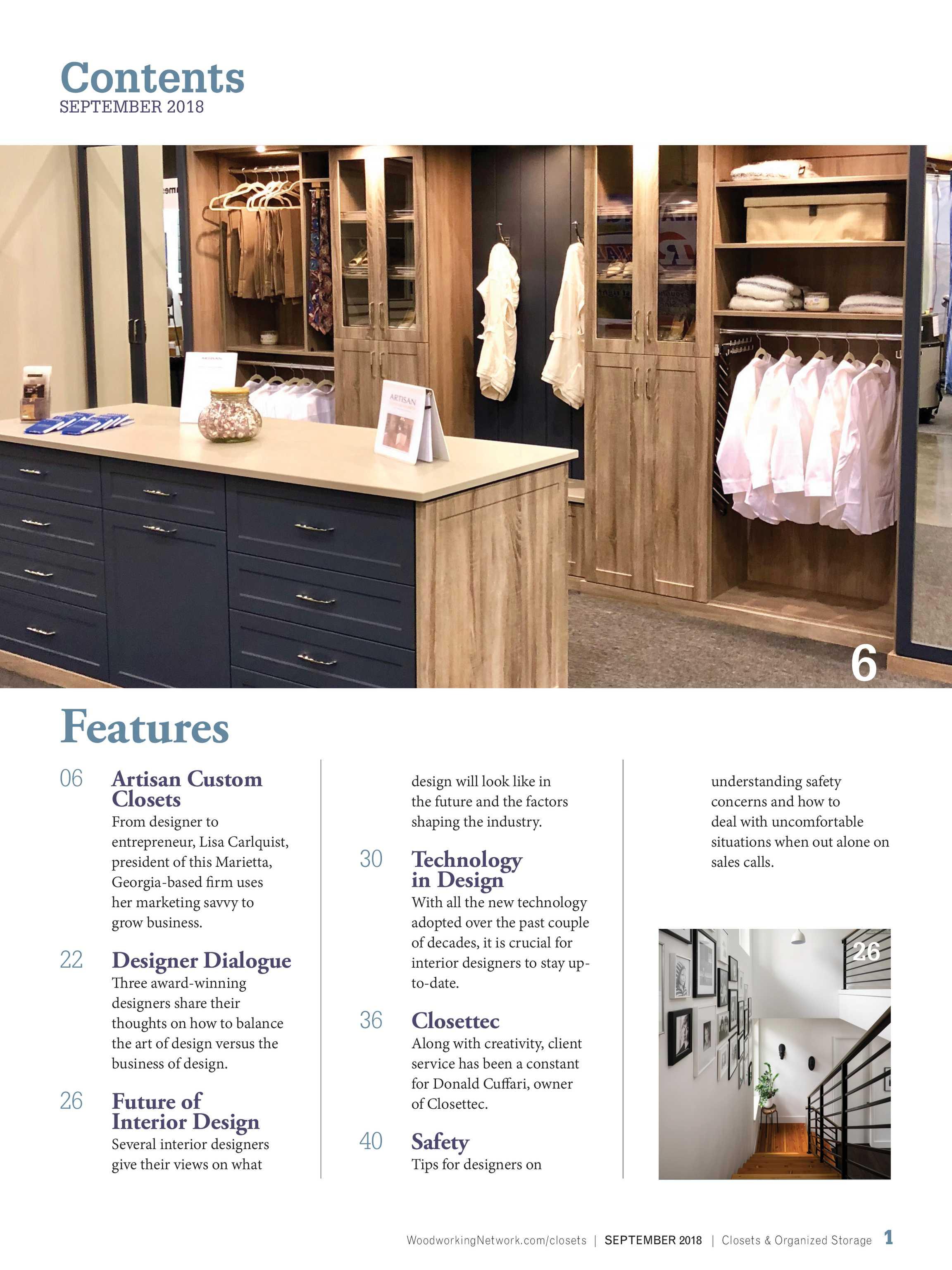 Closets Magazine