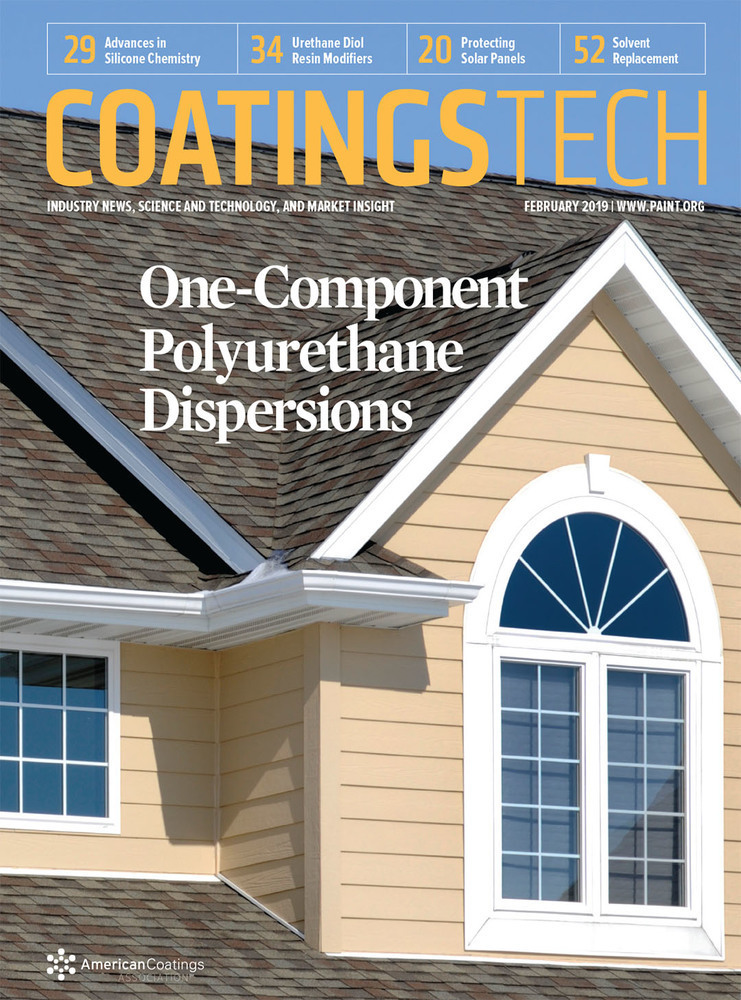 CoatingsTech - February 2019 - Cover