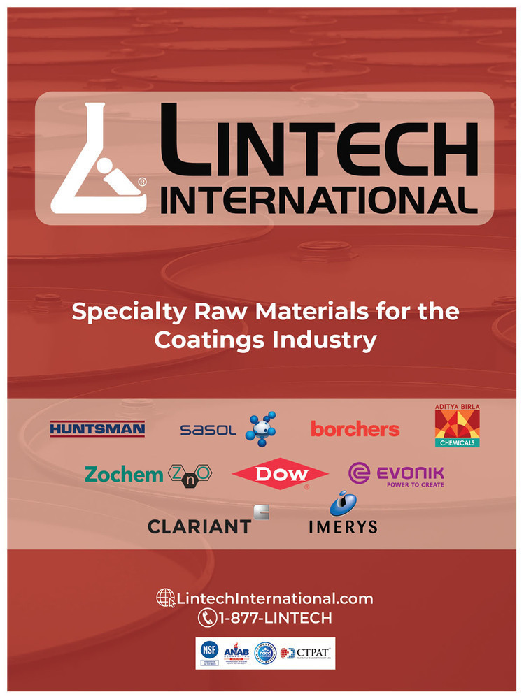 CoatingsTech - Nov/Dec 2018 - 2019 CoatingsTech Distributors