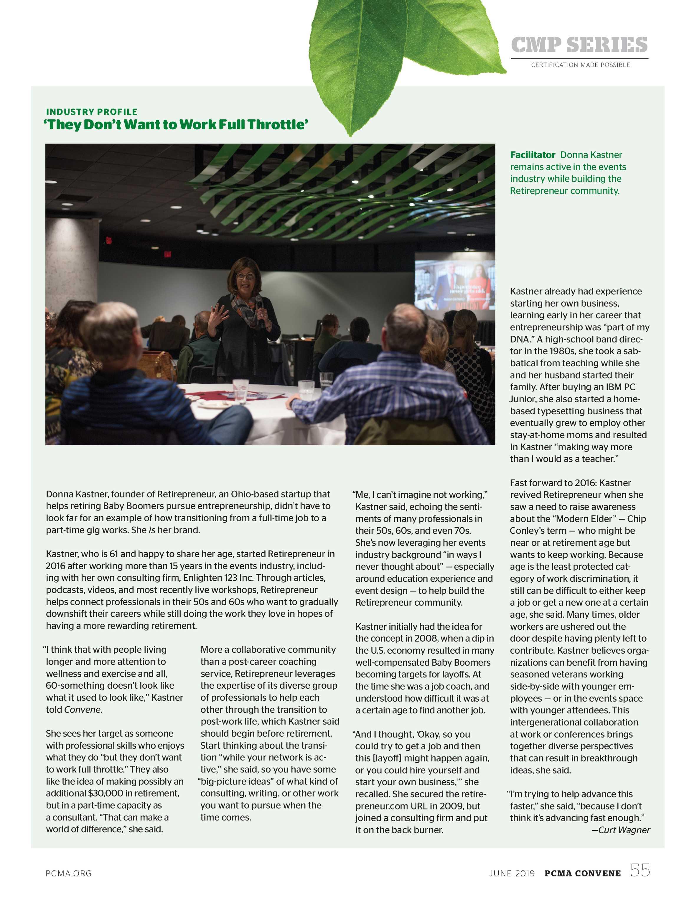 Convene - June 2019 - page 56