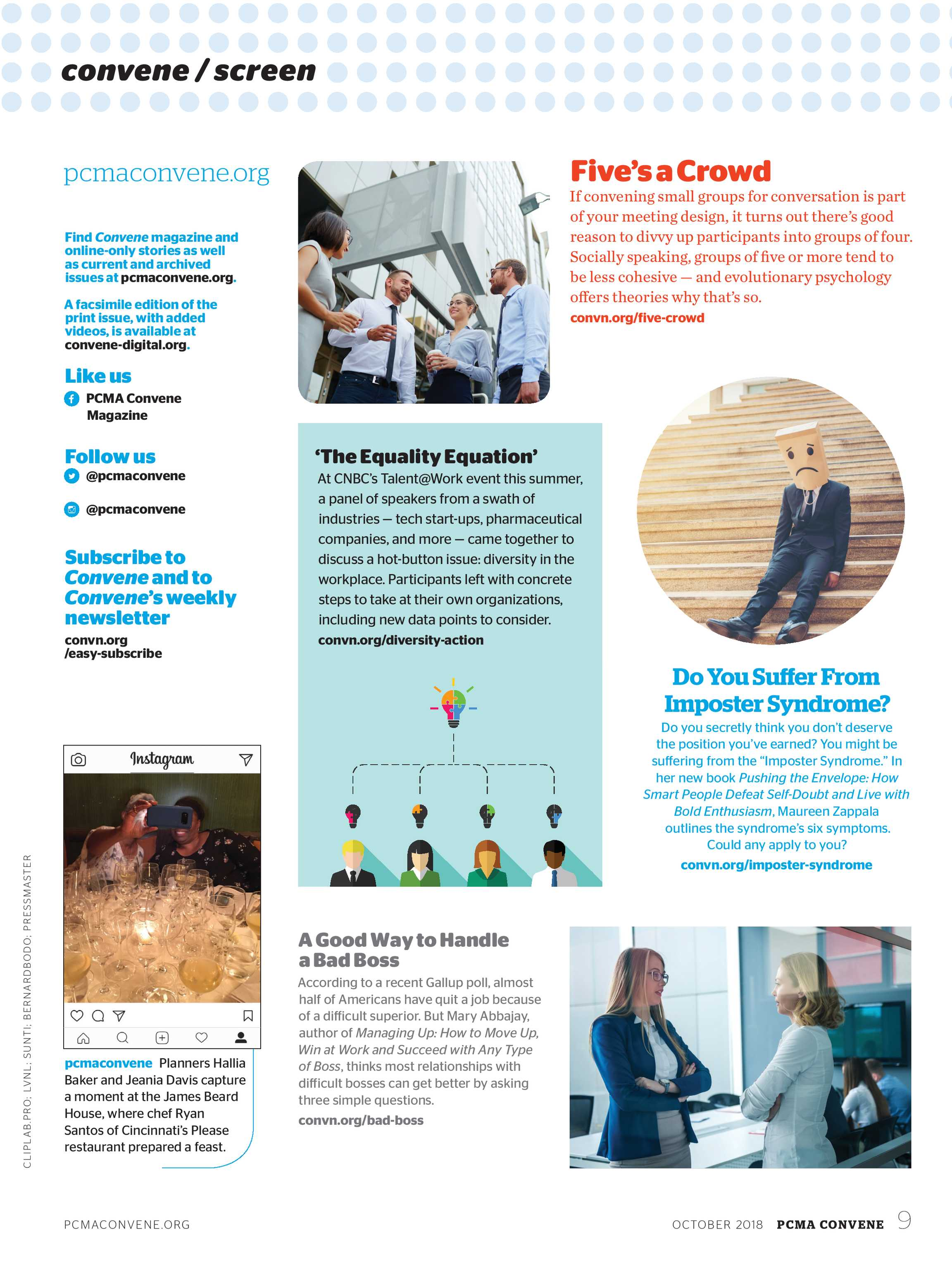 Convene - October 2018 - page 9