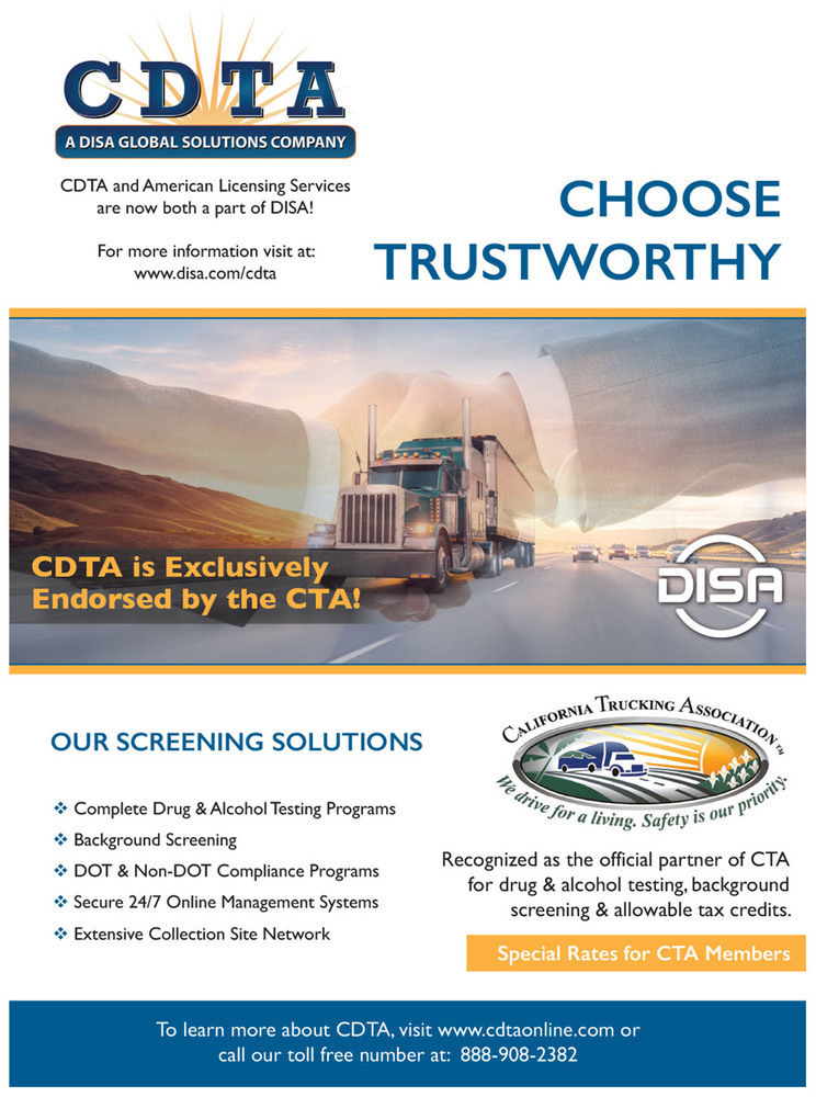 Caltrux (CTRS) - January/February 2019 - Protect Your Business