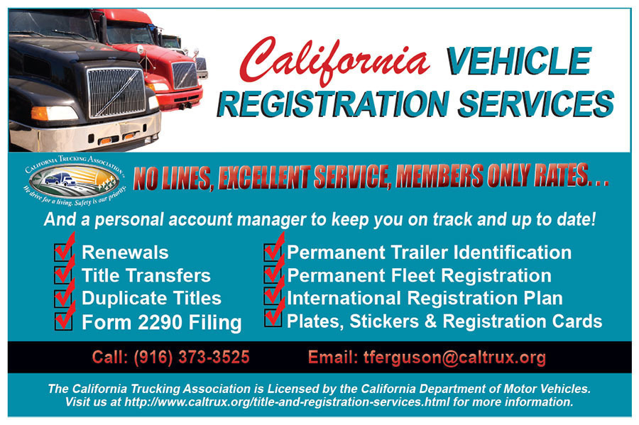 Caltrux (CTRS) - January/February 2019 - DMV Has Streamlined