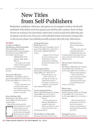 Publishers Weekly September 26 2016 Page 52 53