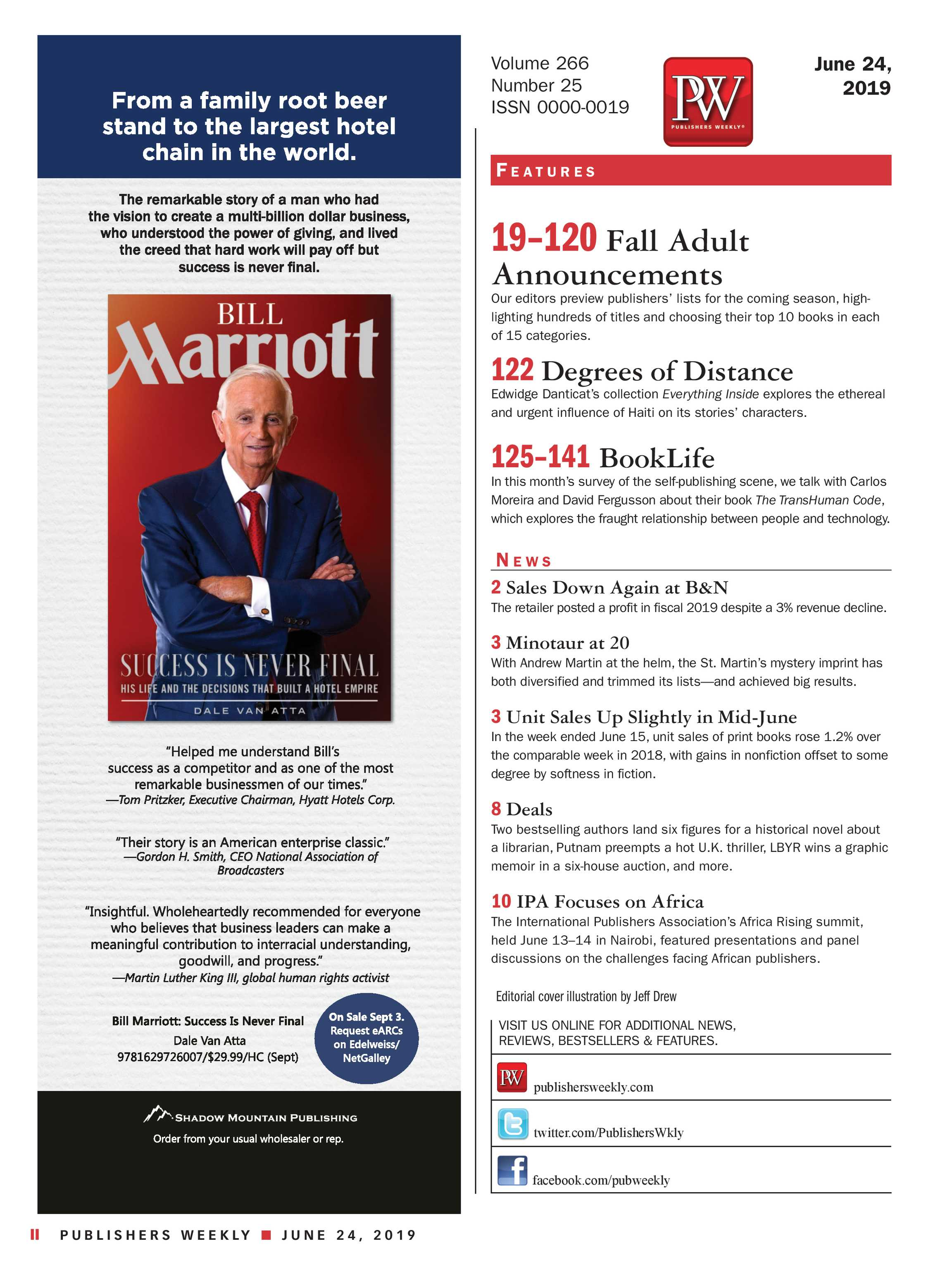 Publishers Weekly - June 24, 2019 - page II